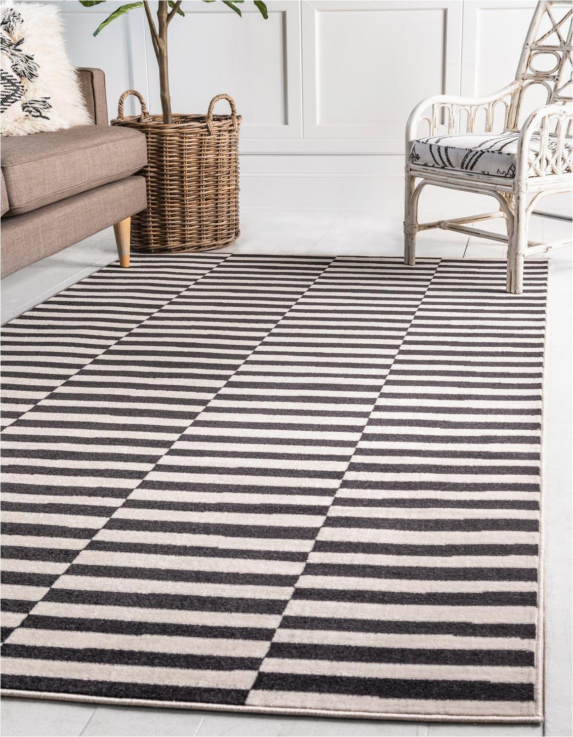 black 5x8 soho area rug