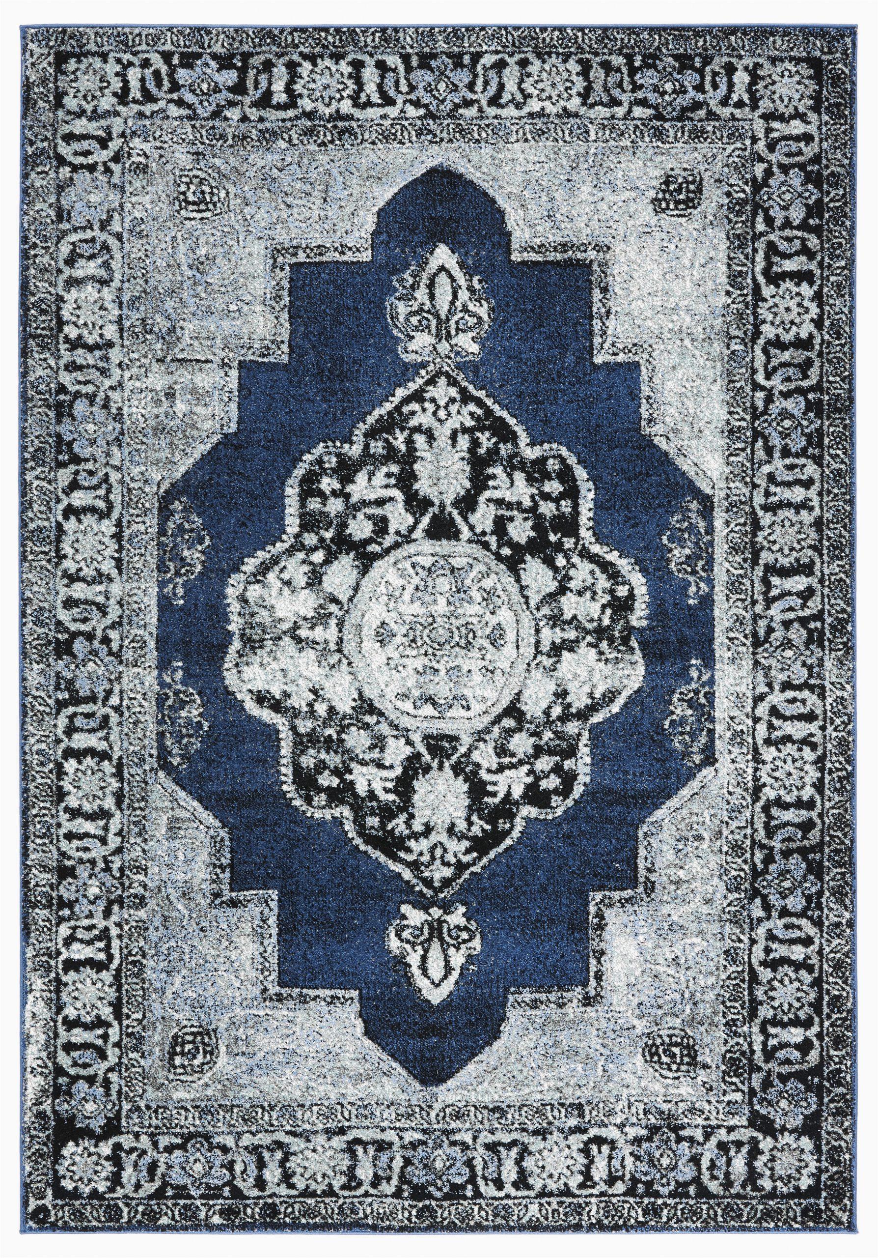 cascata oriental bluegray area rug