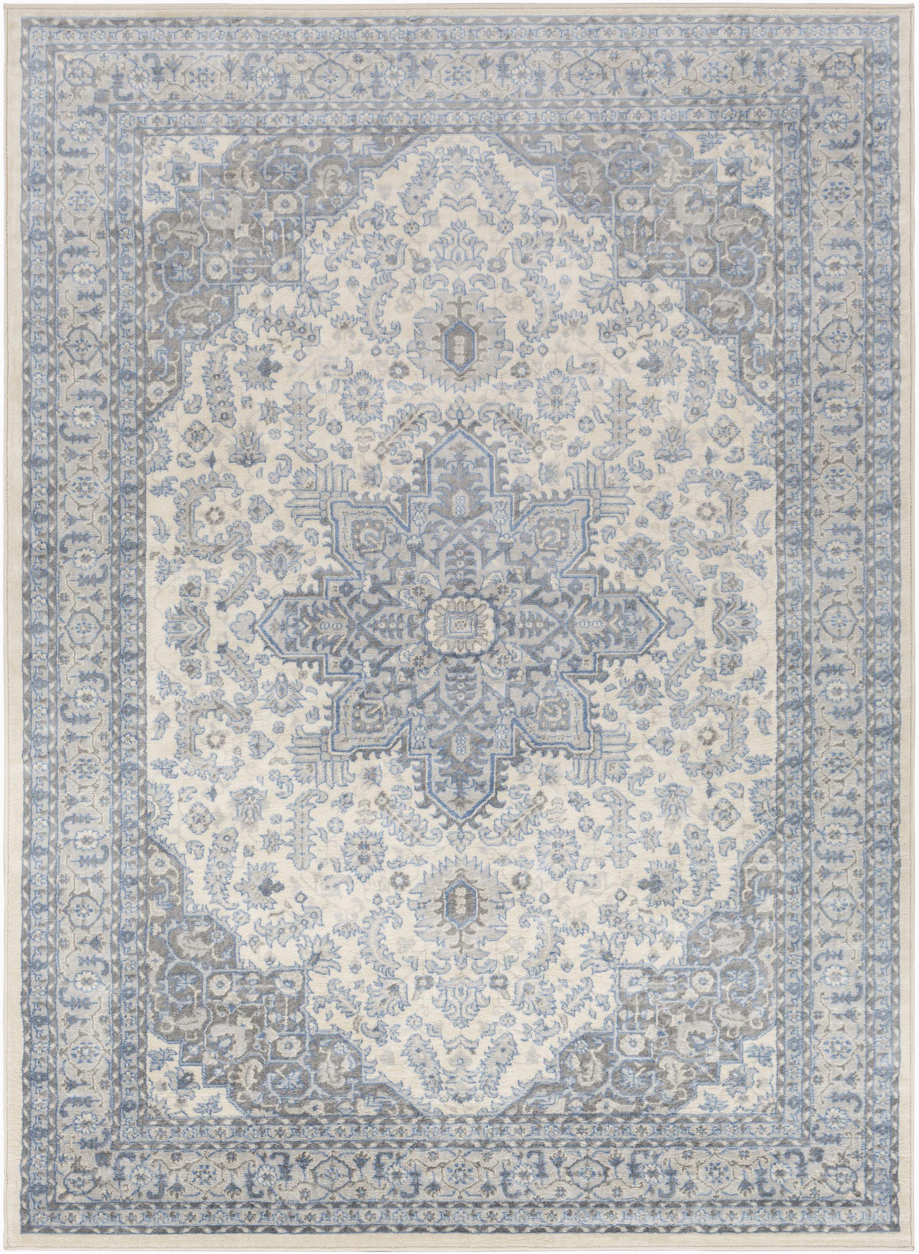 swaney bluegraybeige area rug