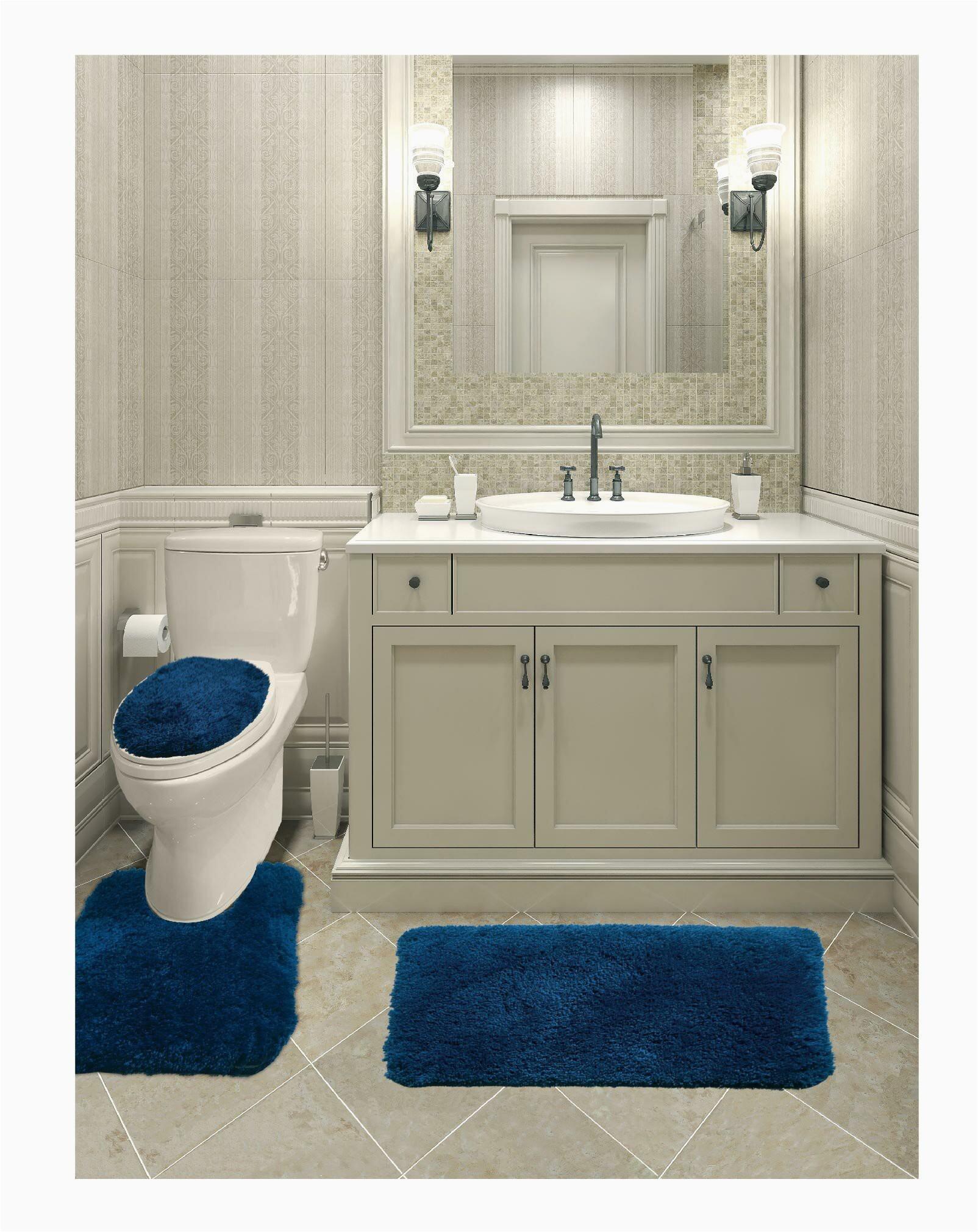 everly quinn micahel solid plush 3 piece bath rug set eyqn4721 piid=
