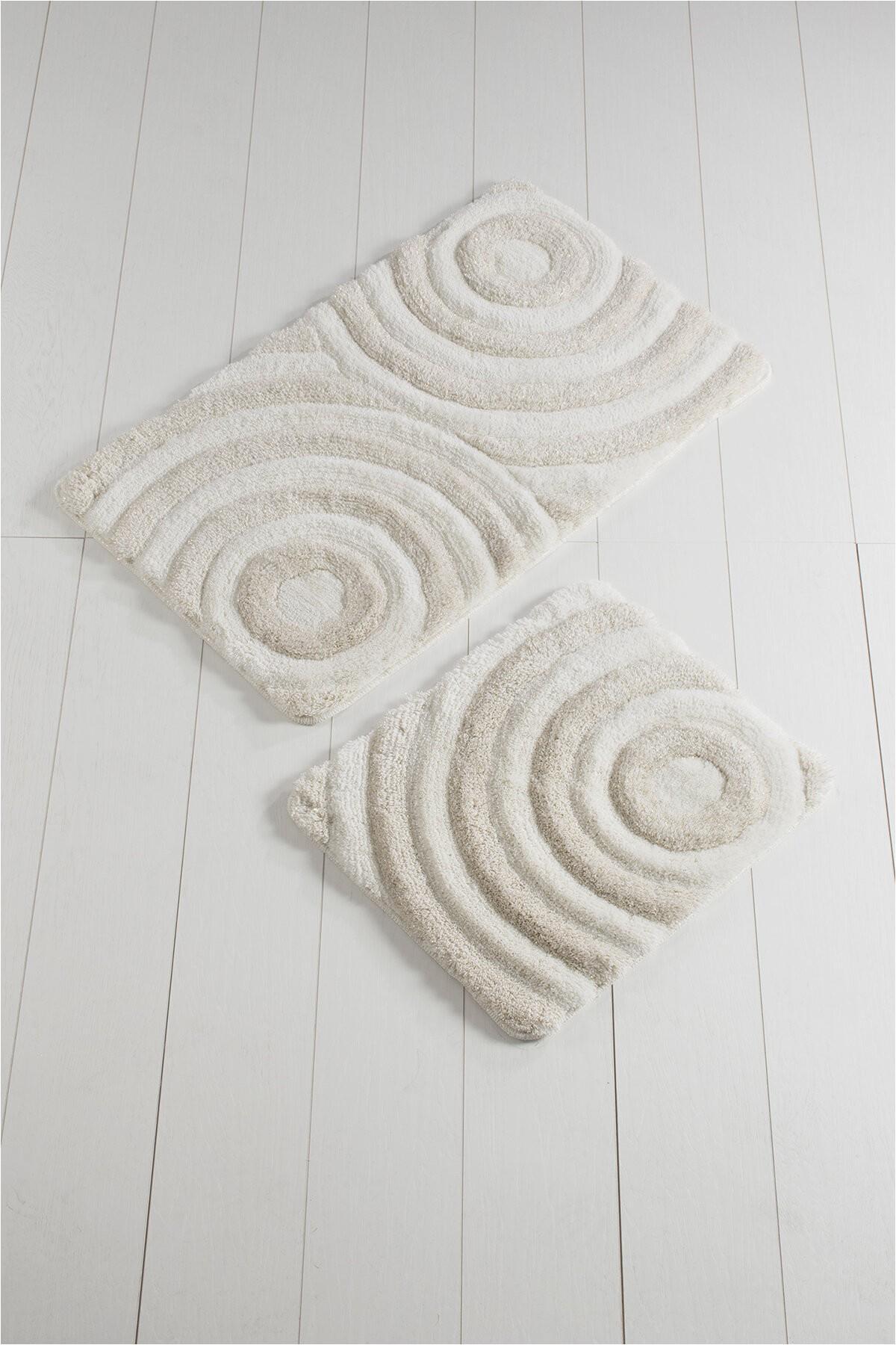 orren ellis sparks 2 piece wave bath rug set w