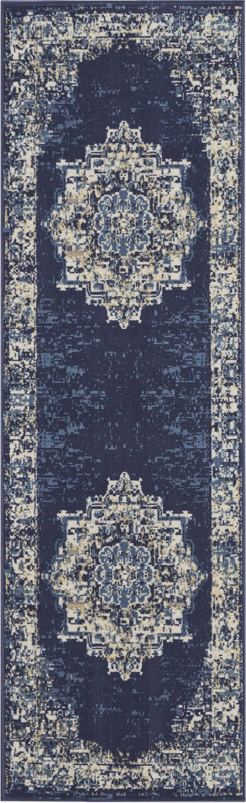 blue kitchen rugs c a1247