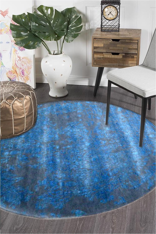 Wool area Rugs Blue Full Blue Moon Pure New Zealand Wool area Rug