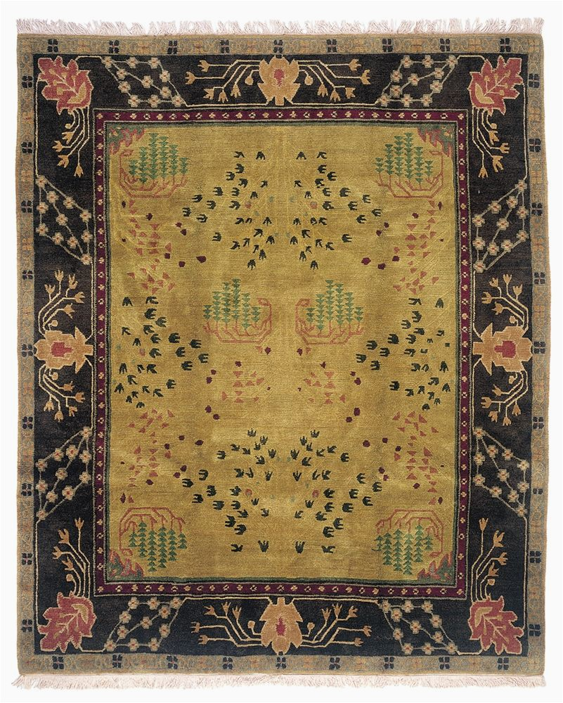 10 by 10 Square area Rugs Donegal Branches Umber Earth 10 X 10 Square area Rug by