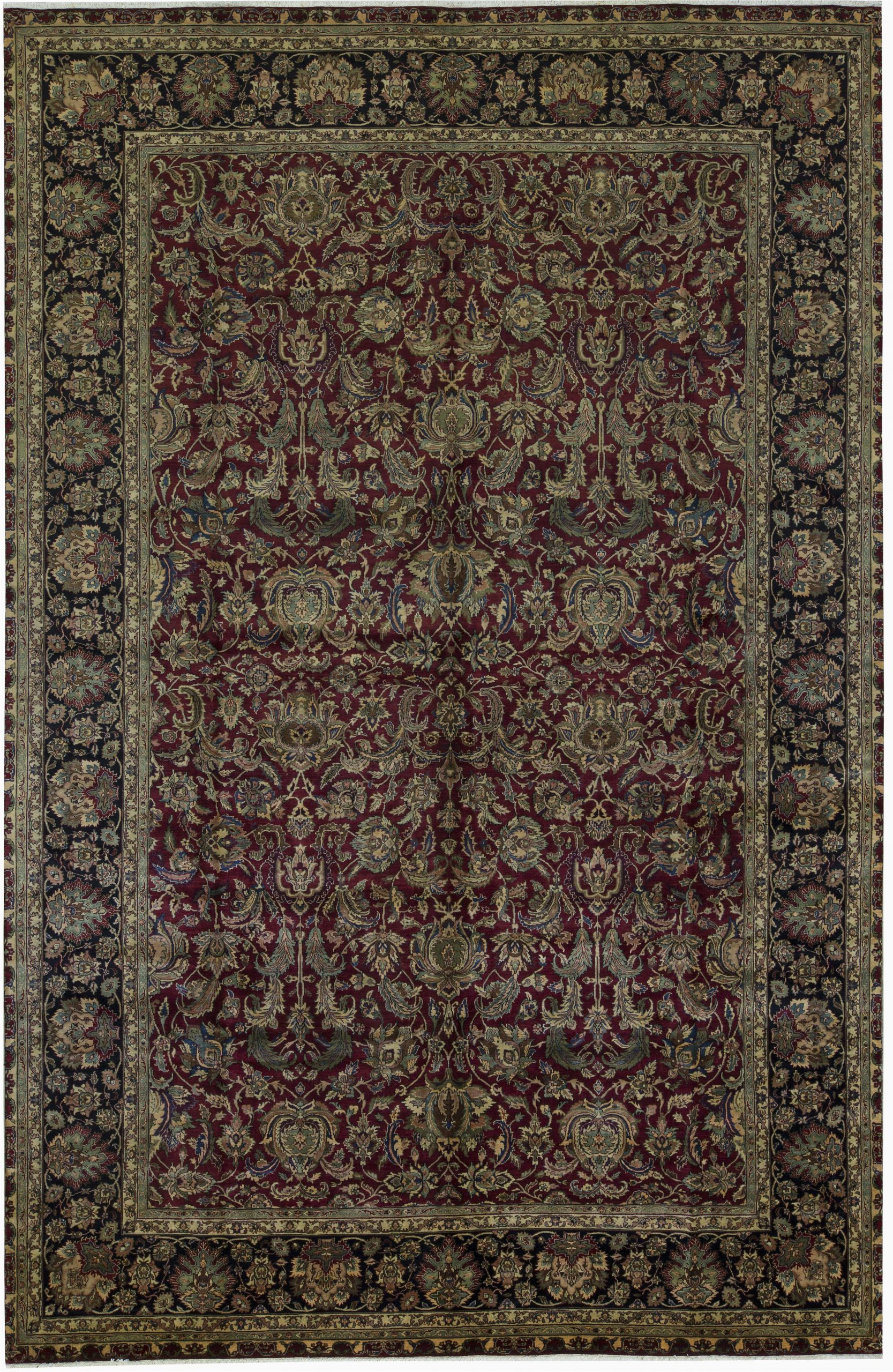 bokara rug co inc one of a kind hand knotted brownred 119 x 18 area rug abhd4070