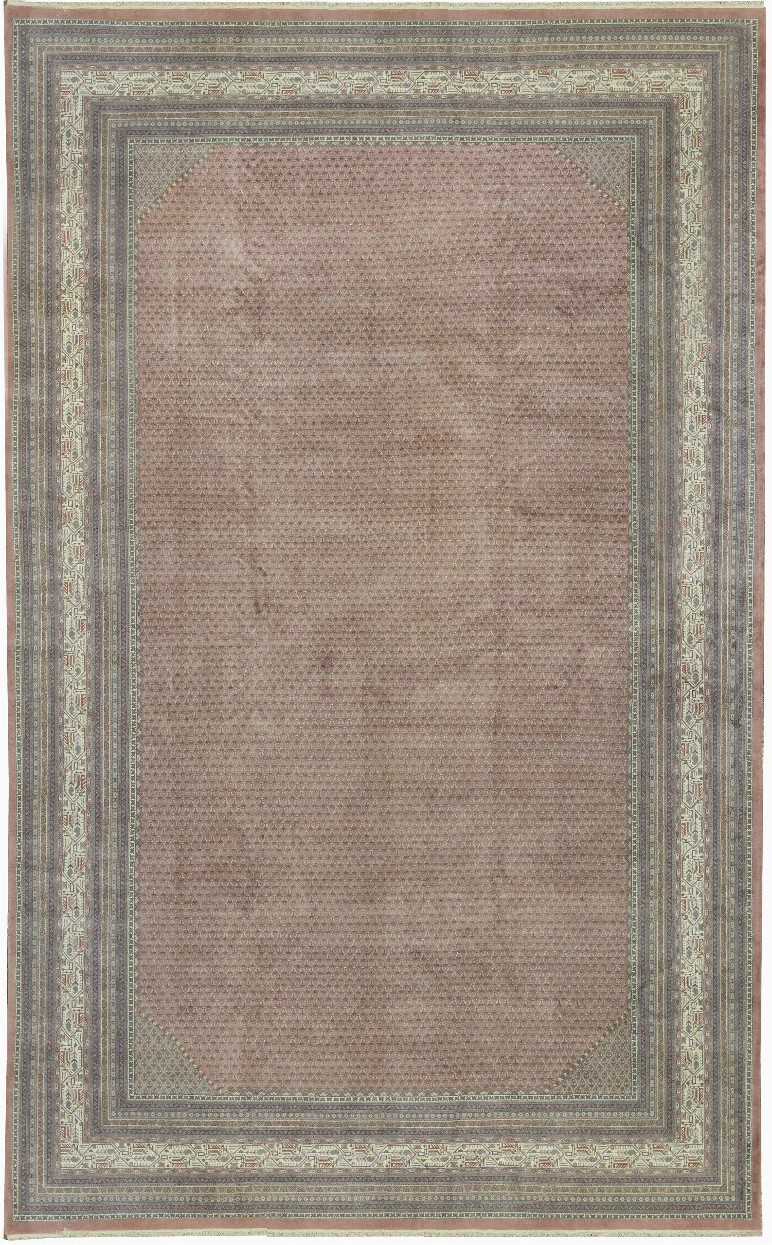 bokara rug co inc one of a kind handwoven 11 x 18 wool browngray area rug abhd2535