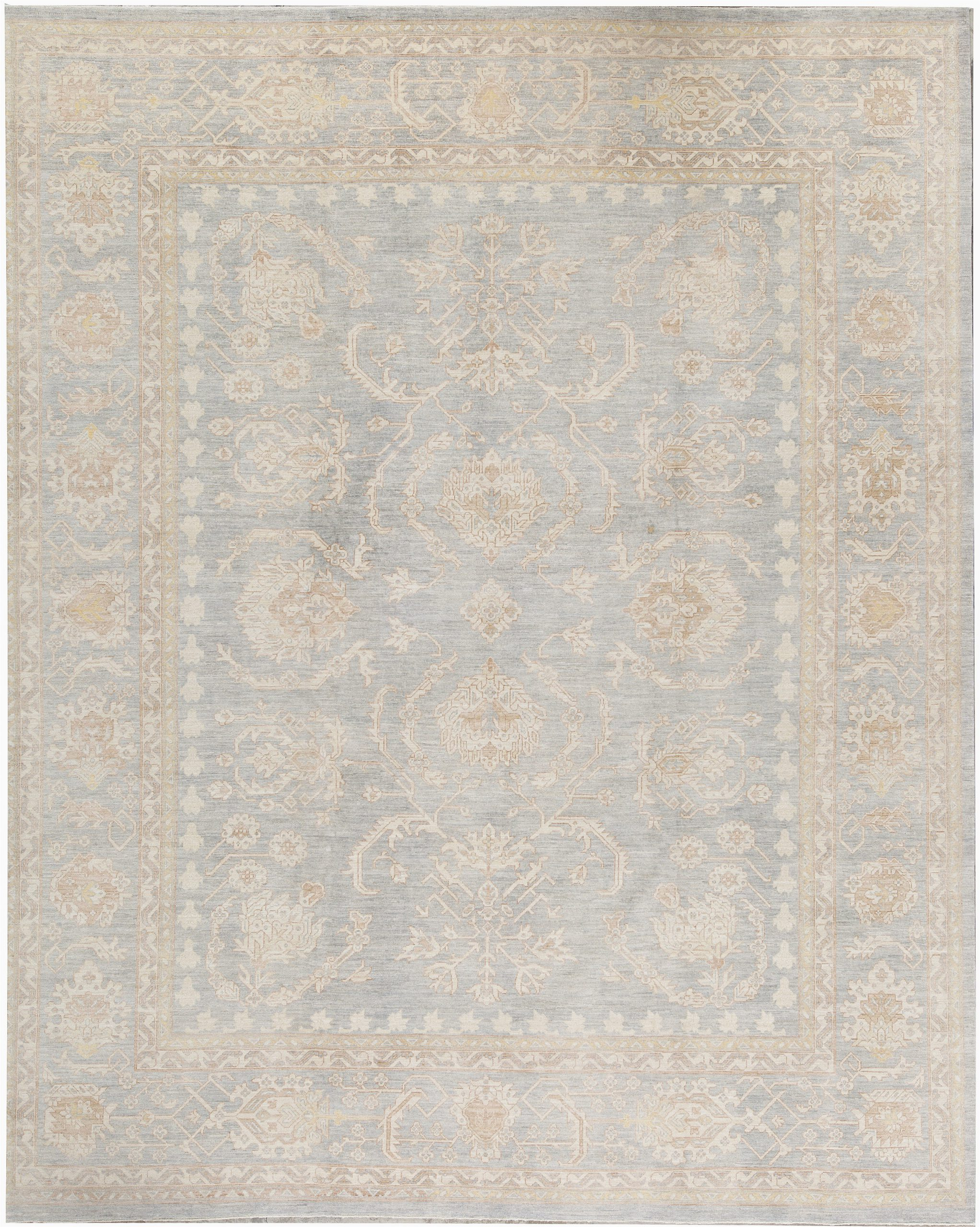 bokara rug co inc one of a kind hand knotted beige 12 x 146 wool area rug abhd6855
