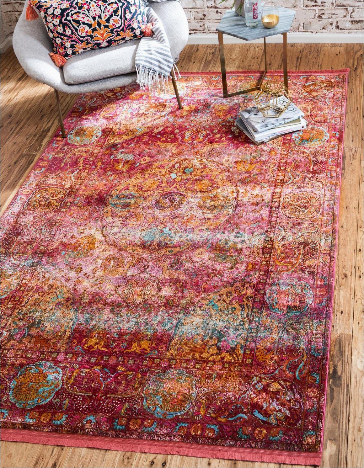 red 4x6 havana area rug