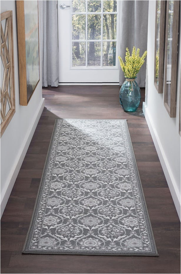 measure the space for runner rug