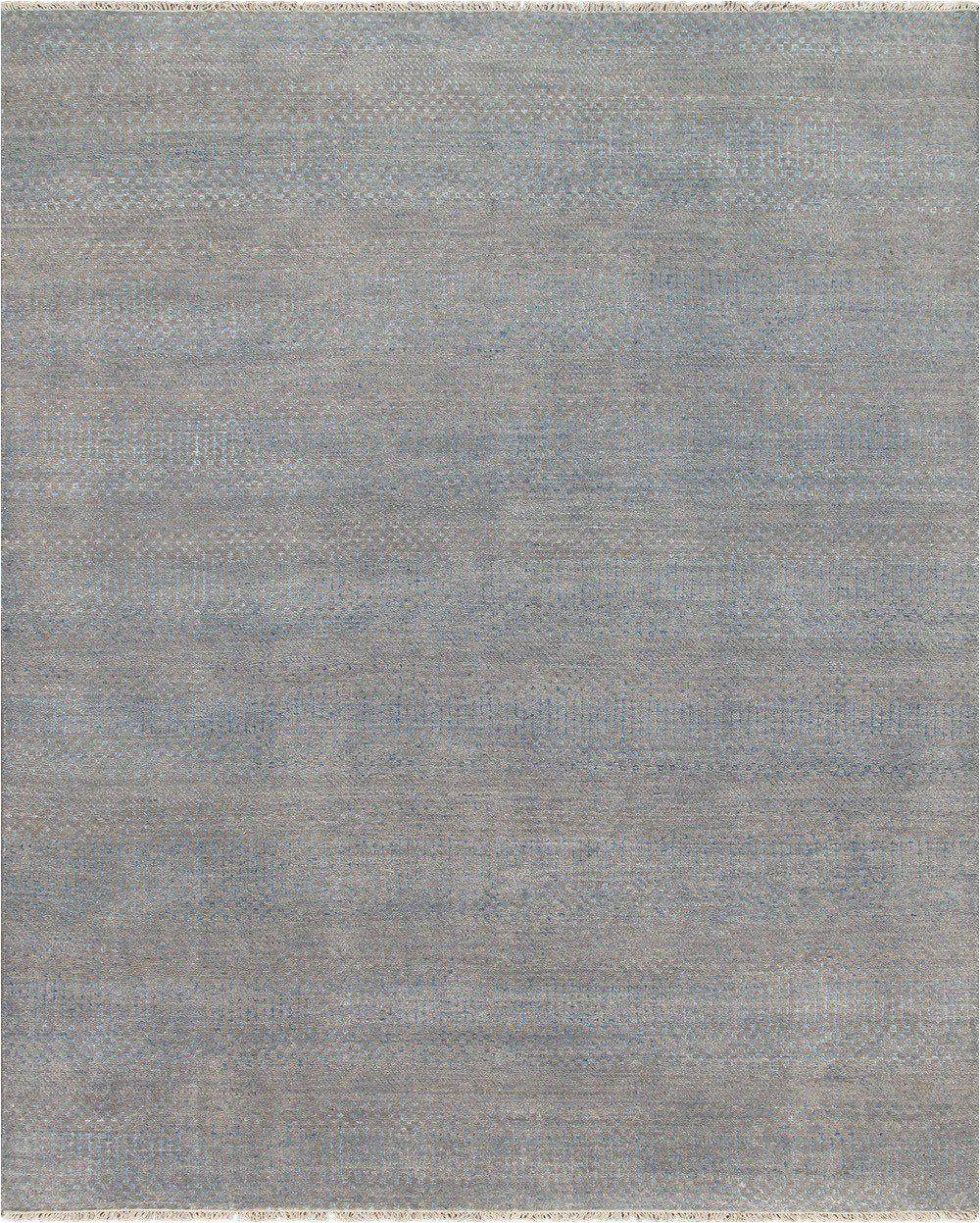 8 x 10 contemporary rug blue and taupe