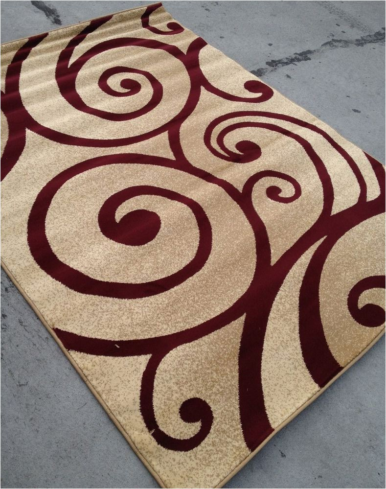 8 X 10 Contemporary area Rugs Modern Style Contemporary Rug 8×10 8 X 10 Carpet Rugs Red