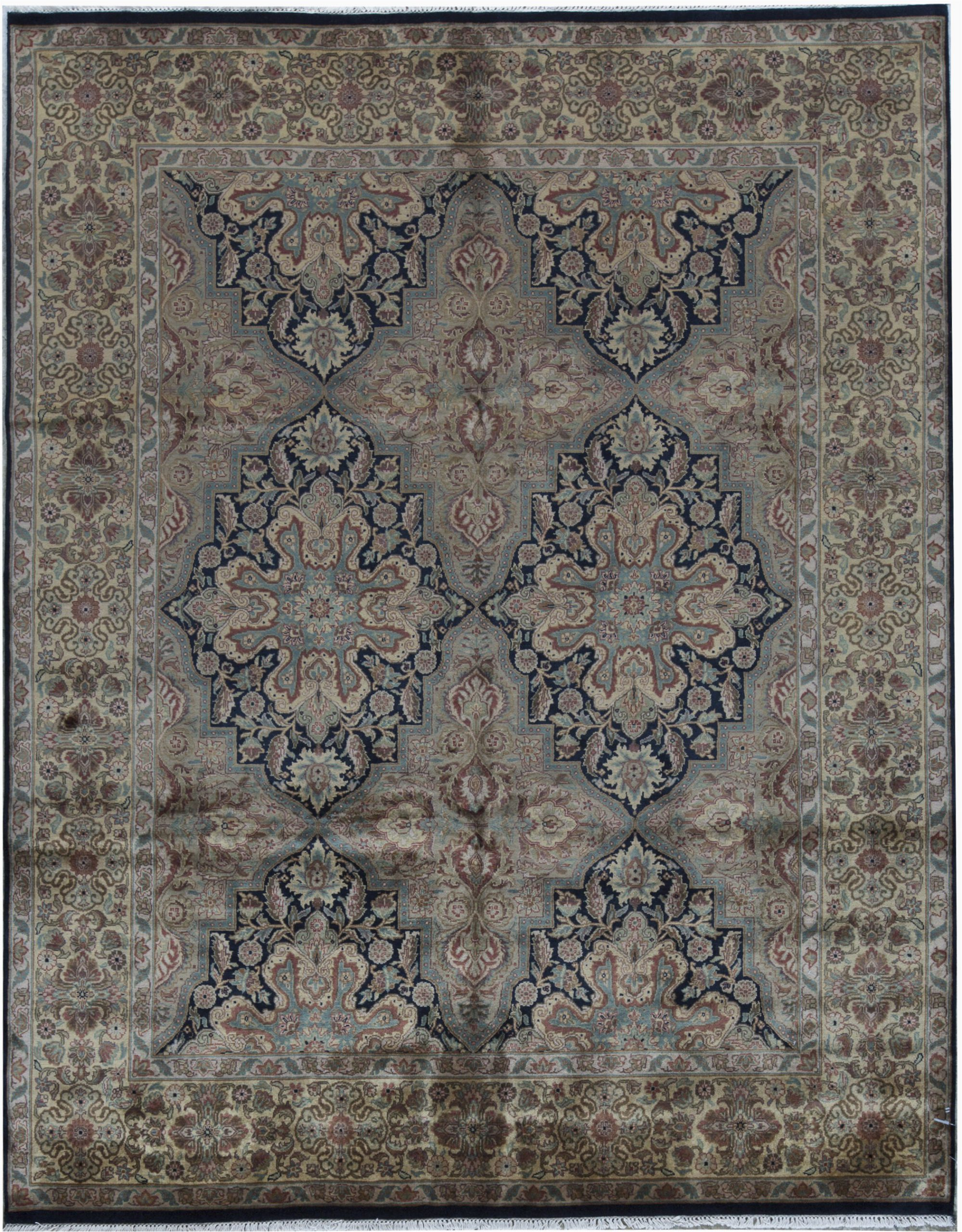 bokara rug co inc avalon oriental hand knotted 8 x 10 wool blackgold area rug abib5564