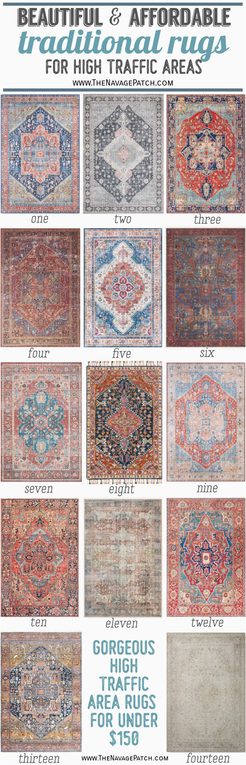 Affordable Area Rugs Pin1 TNP