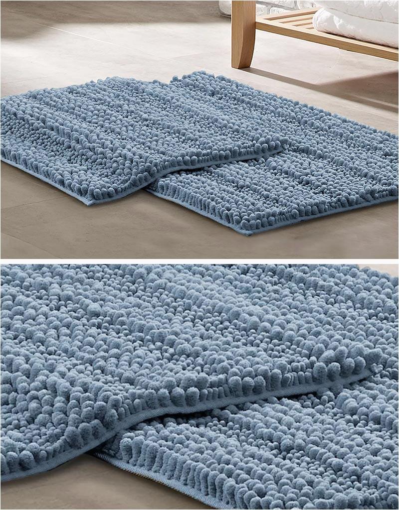 modern blue bath rug mat 950 03