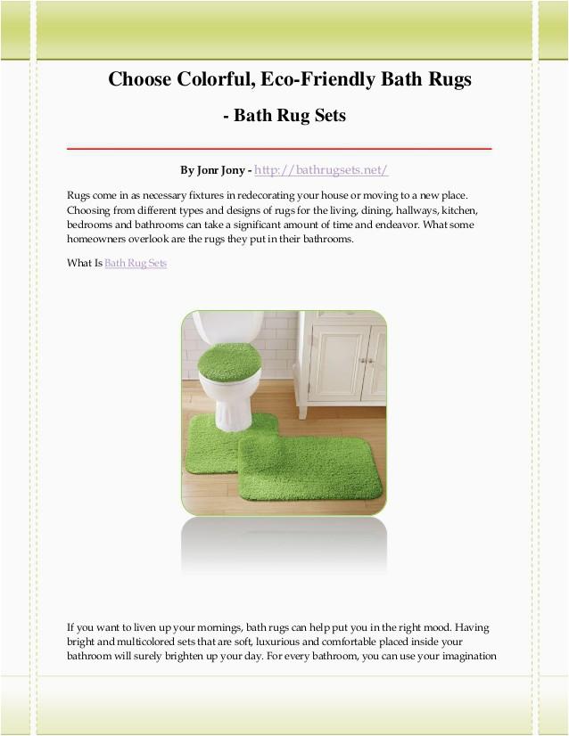 bath rug sets 1 638
