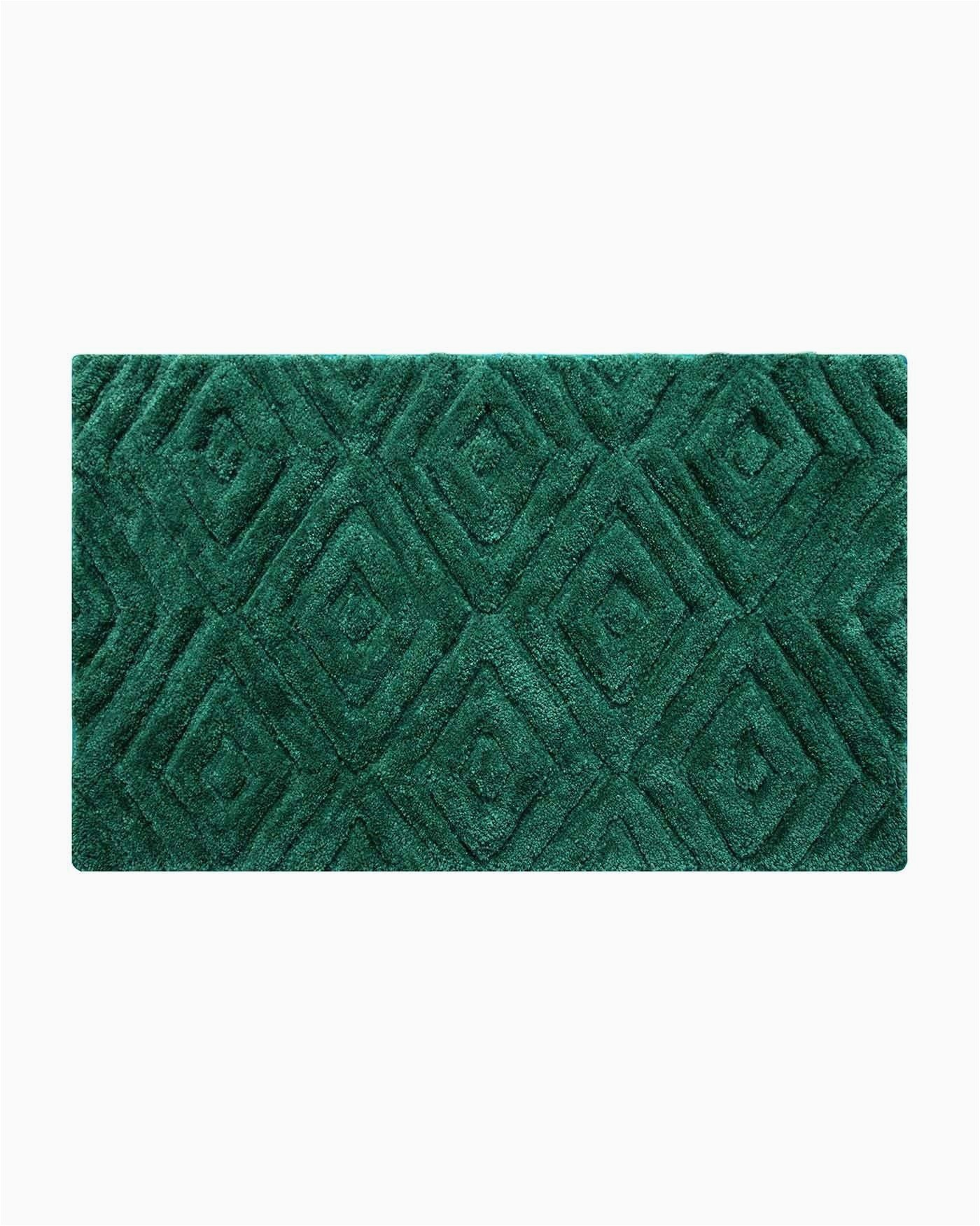 Emerald Green Bathroom Rug Set Thick Pile Emerald Green Bathmat This Large Bathroom Floor