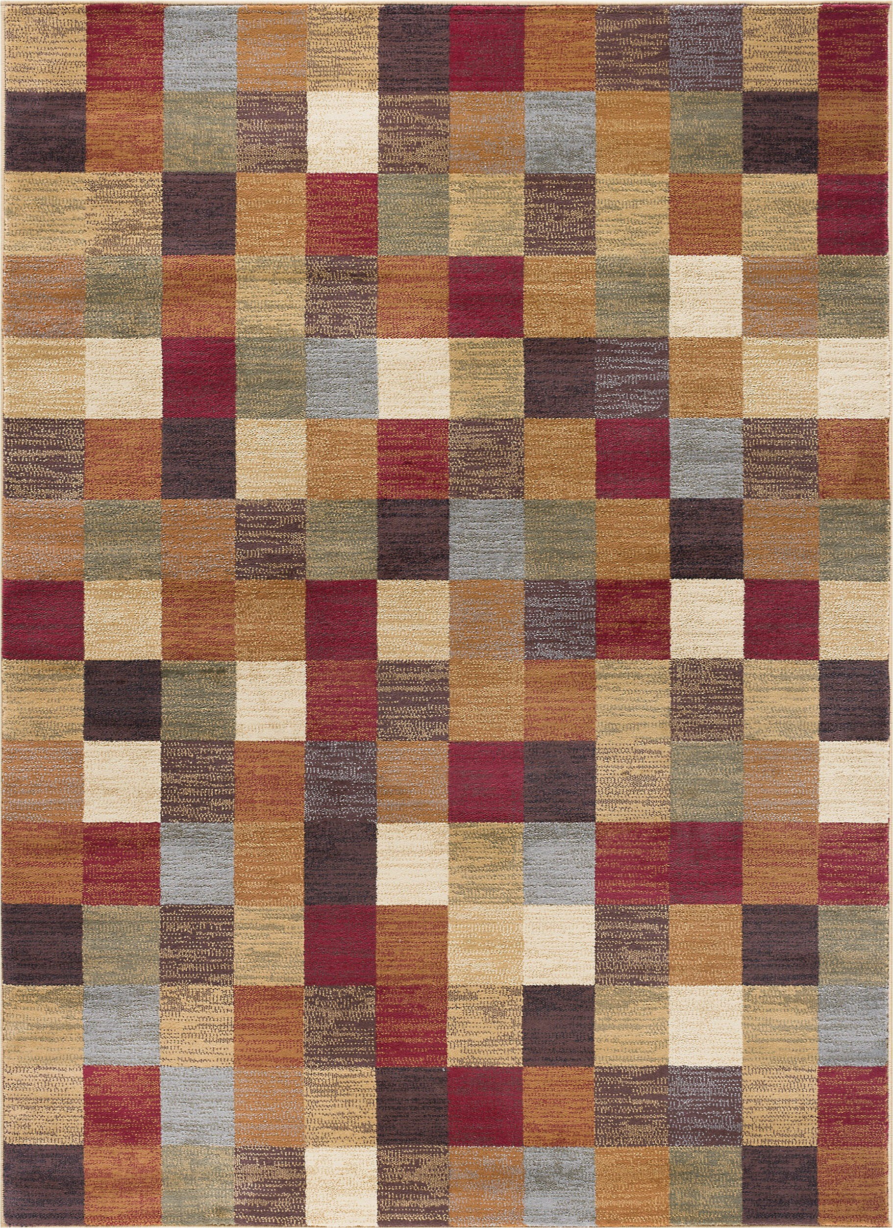 hartle brownred rug
