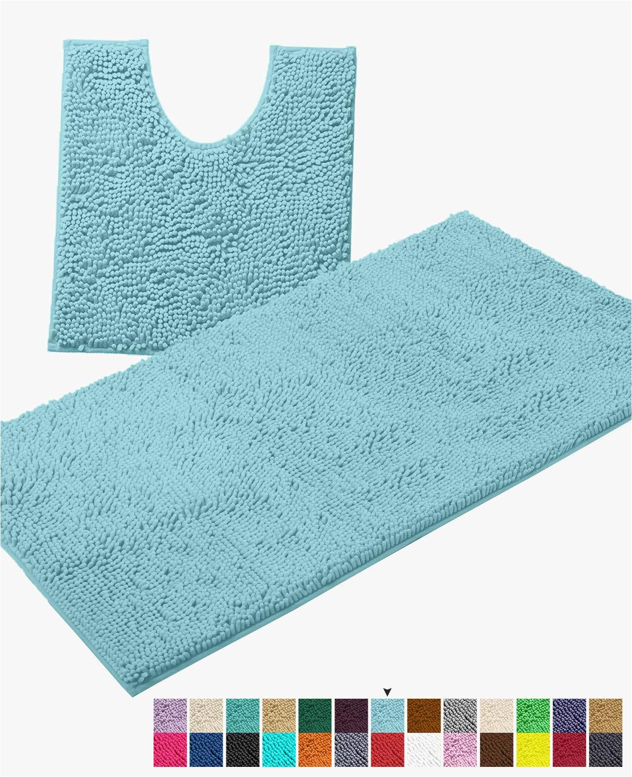 Large Chenille Bathroom Rugs Luxurux Bathroom Rugs Luxury Chenille 2 Piece Bath Mat Set