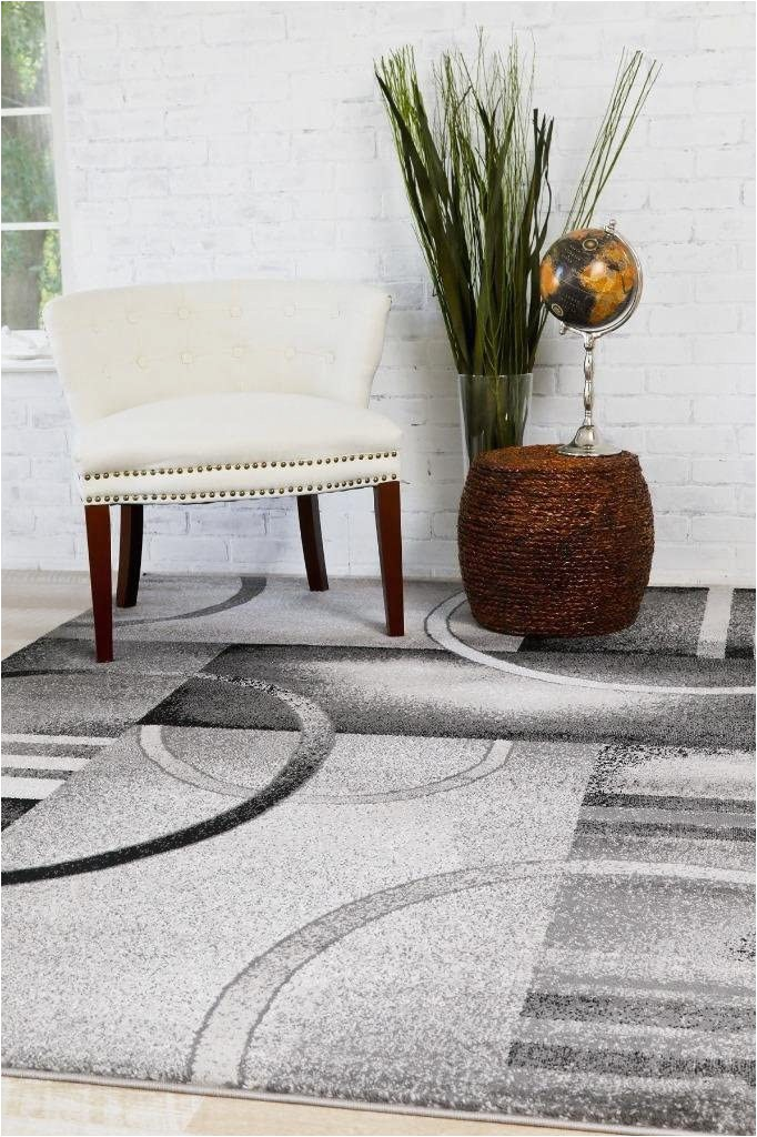 Large Gray and White area Rug Persian Rugs 7727 Grey White Black 5 2×7 2 area Rug Carpet New
