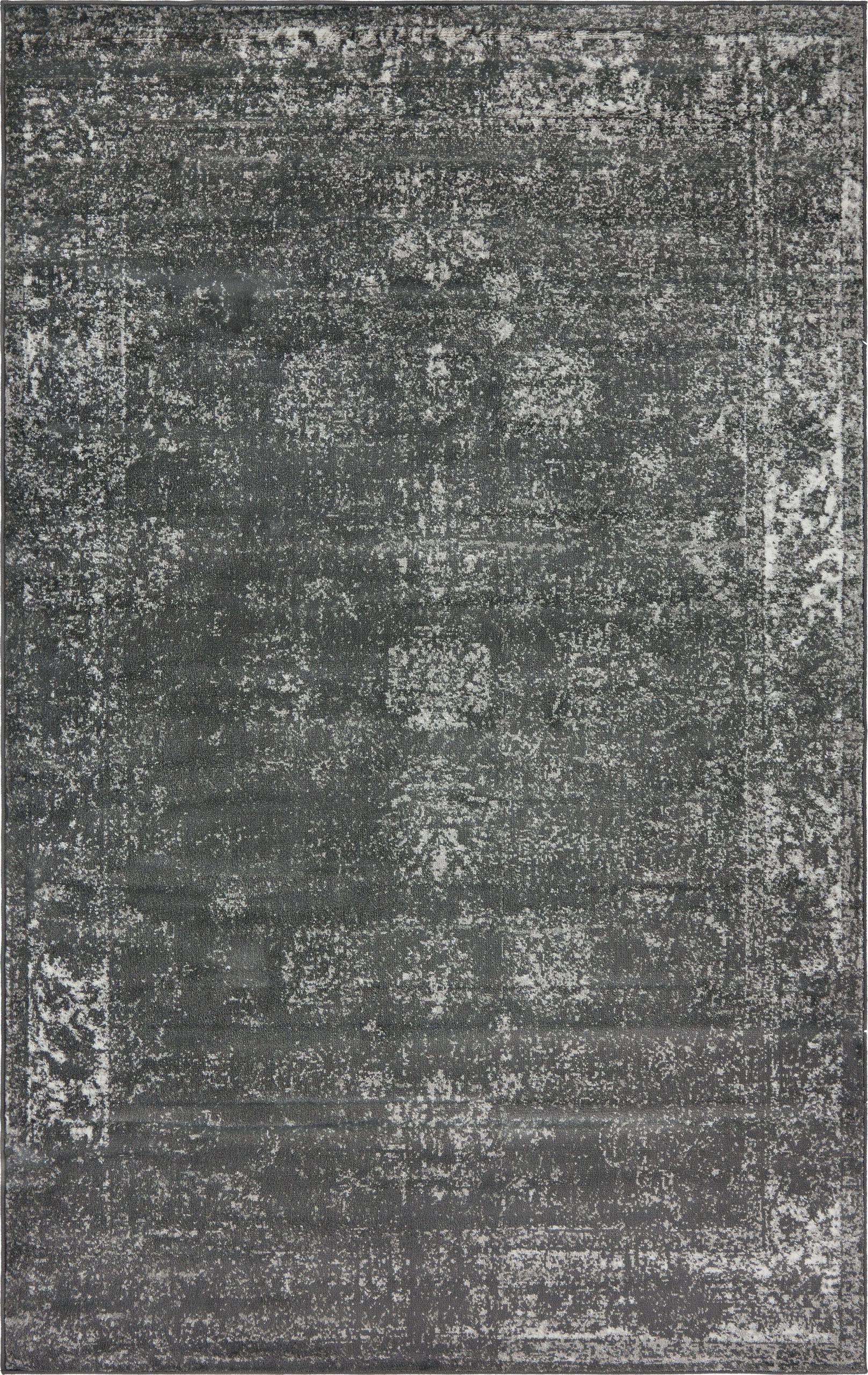 brandt oriental dark gray area rug