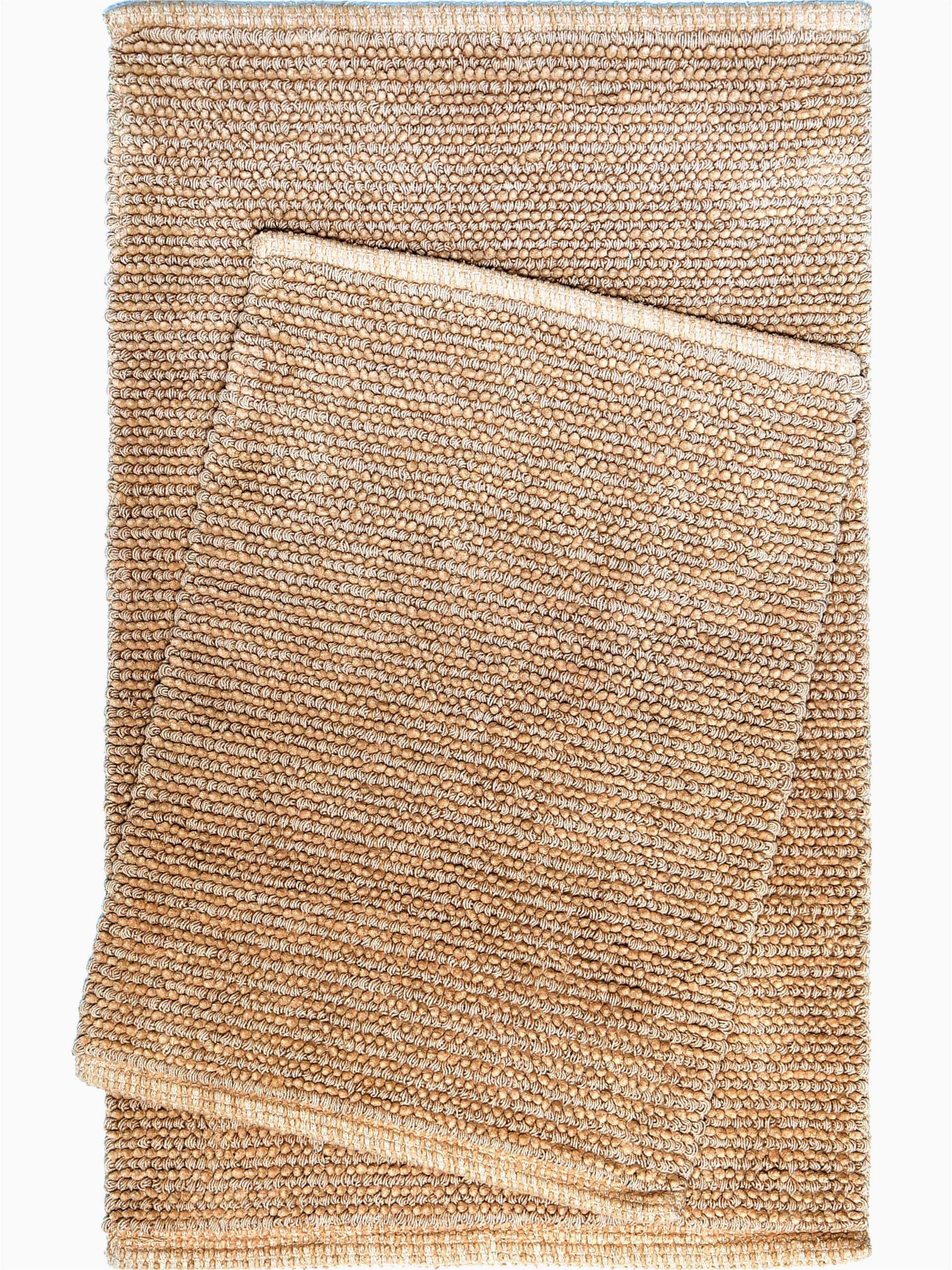 nicole miller newton cotton 2 piece bath rug set w