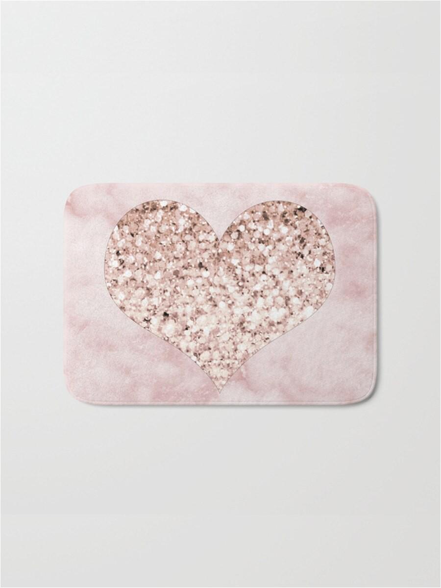 1pc rug marble geometric pattern rose gold bath mat practical anti slip flannel door mat g0xdx0x3xcr4ngbrh uoo 73