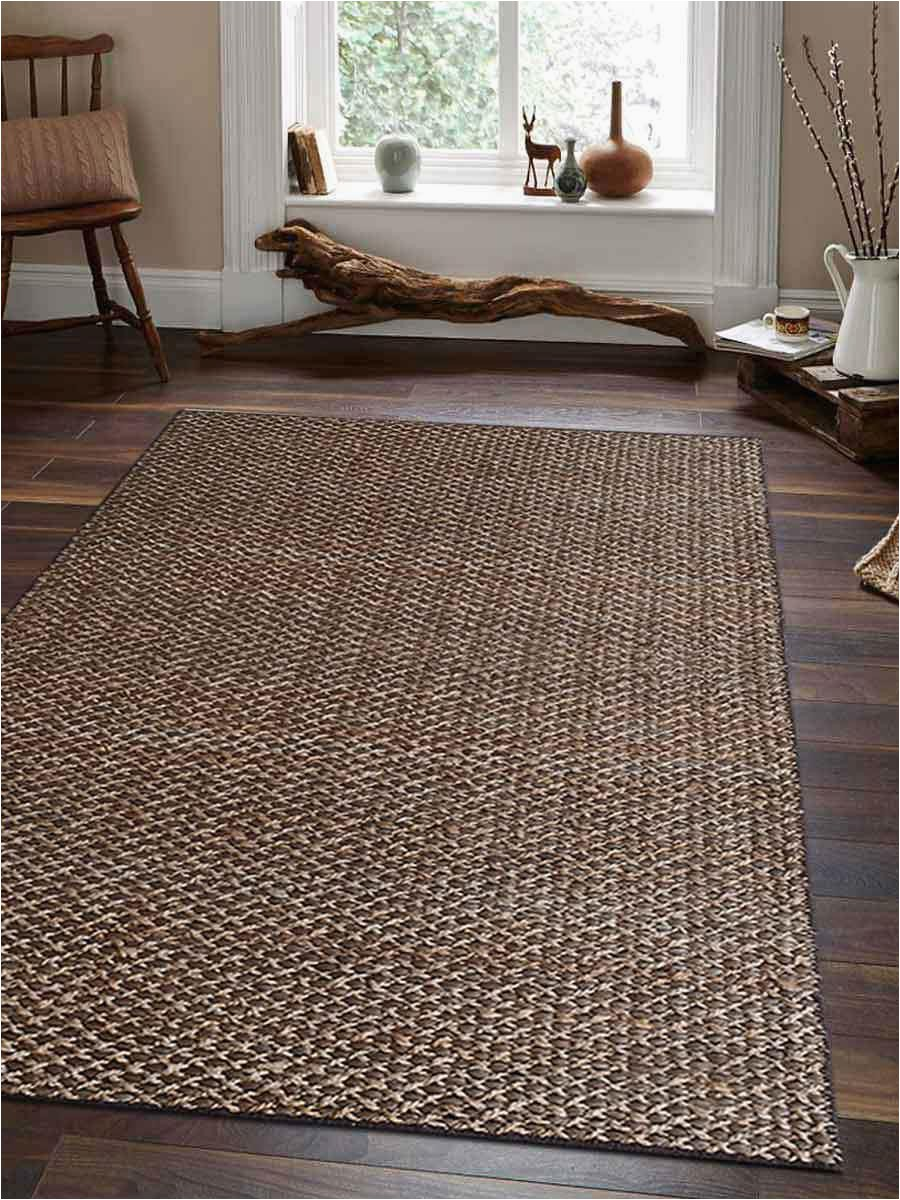 hand woven jute 6x9 solid area rug light brown j size=selected