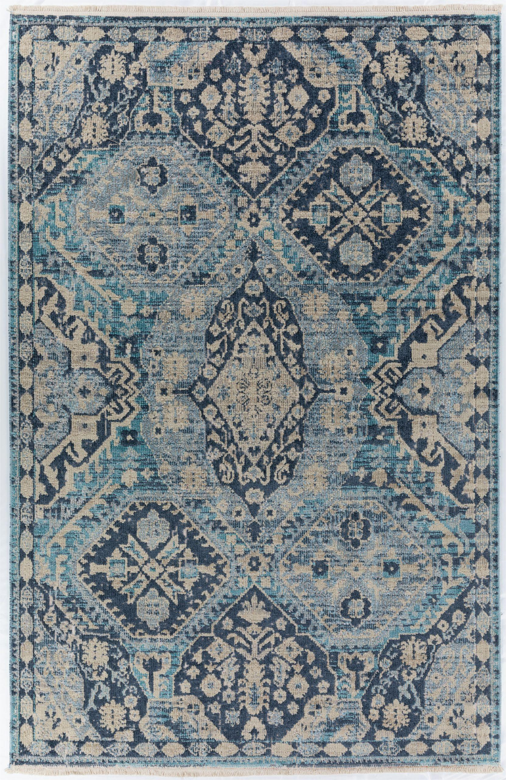 es oriental blue area rug