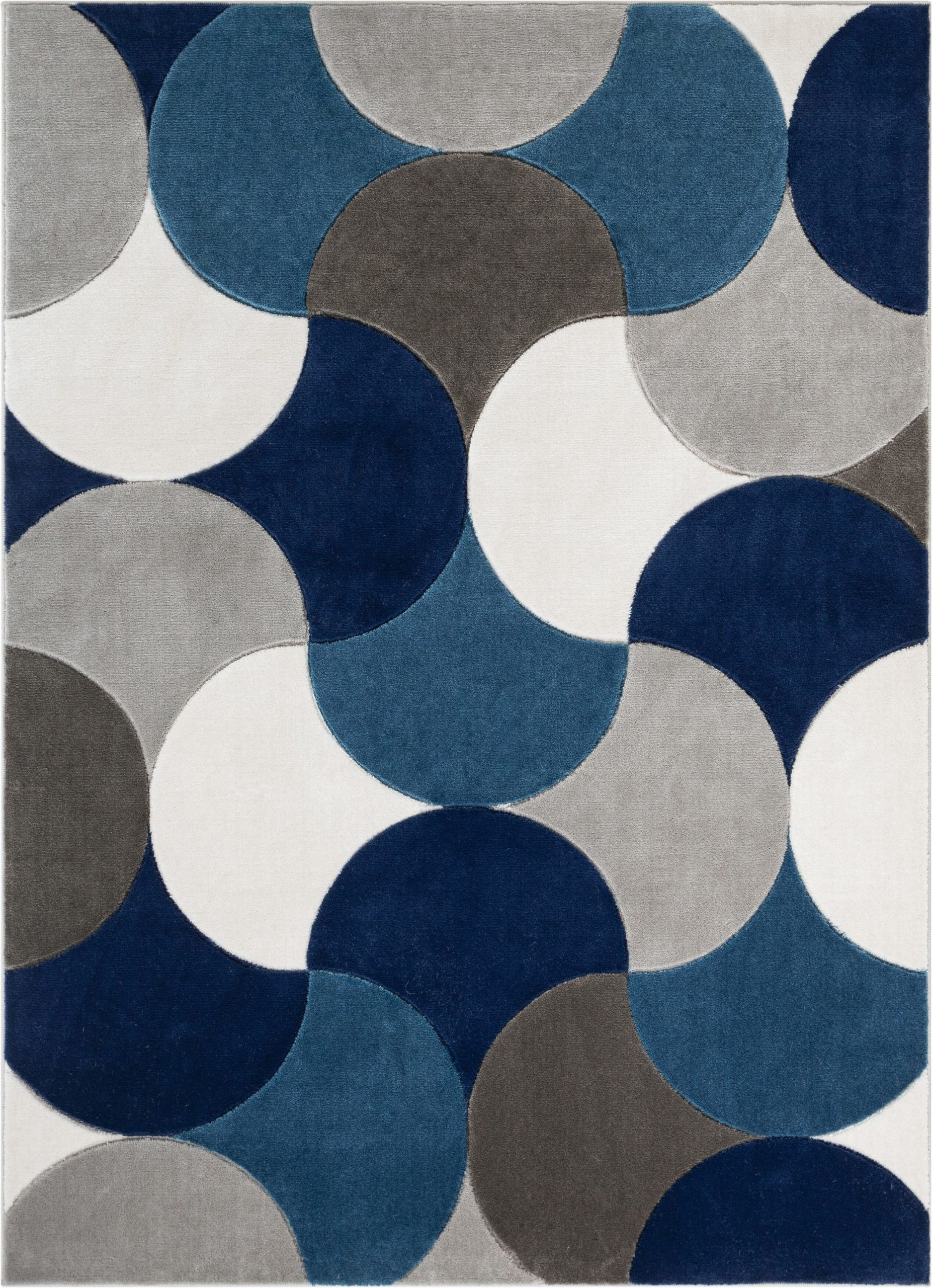 helena bluegrayblack rug