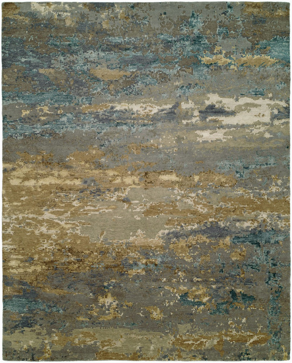 hri rosewood ro 1427 light blue gold area rugx