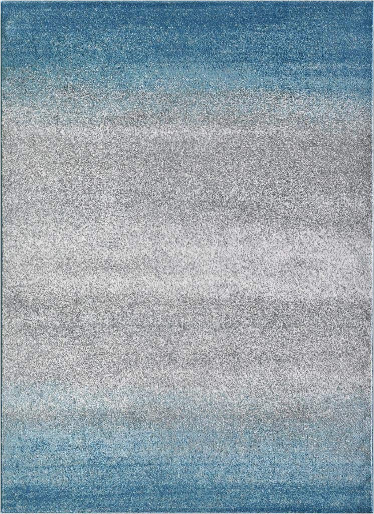 Blue Ombre Rug 8×10 Buy Luxe Weavers Abstract Blue Ombre 8×10 area Rug Line at