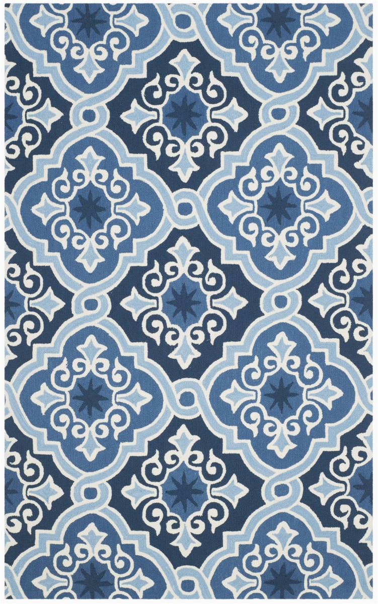 safavieh four seasons frs231b navy blue area rugx