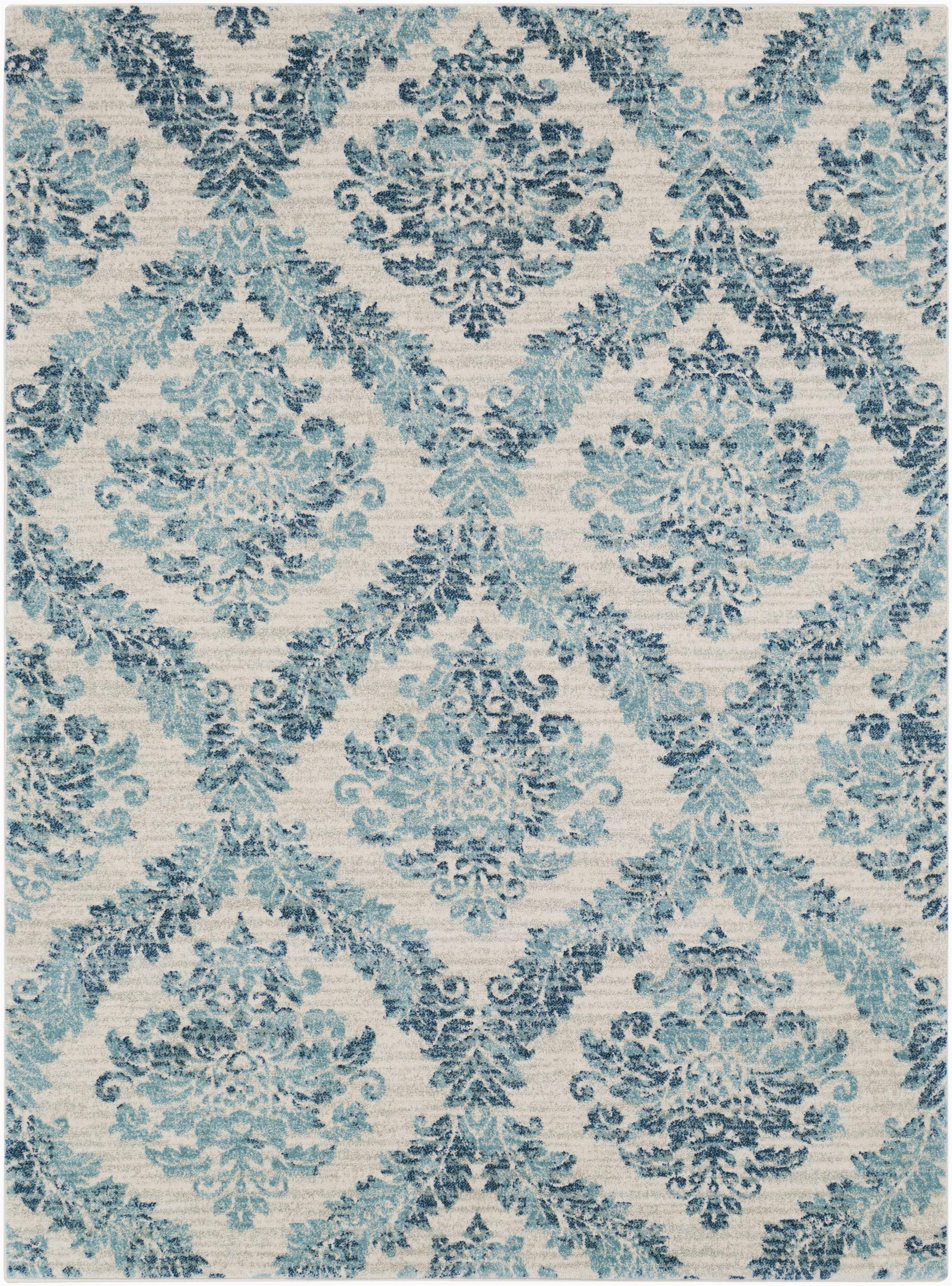 delana dark blueteallight gray area rug