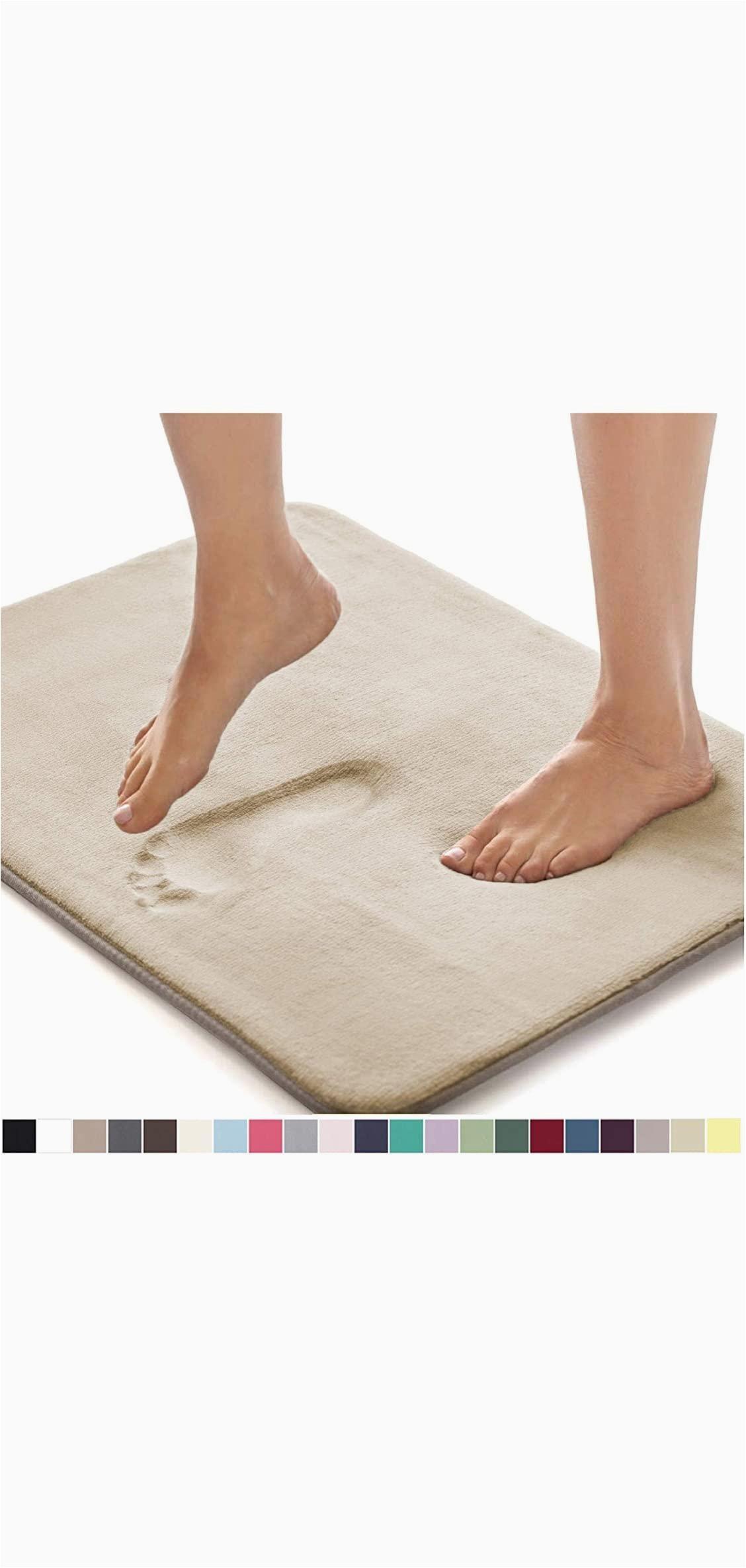 Gorilla Grip Bath Rug Bathroom Floor Gorilla Grip original Thick Memory Foam Bath