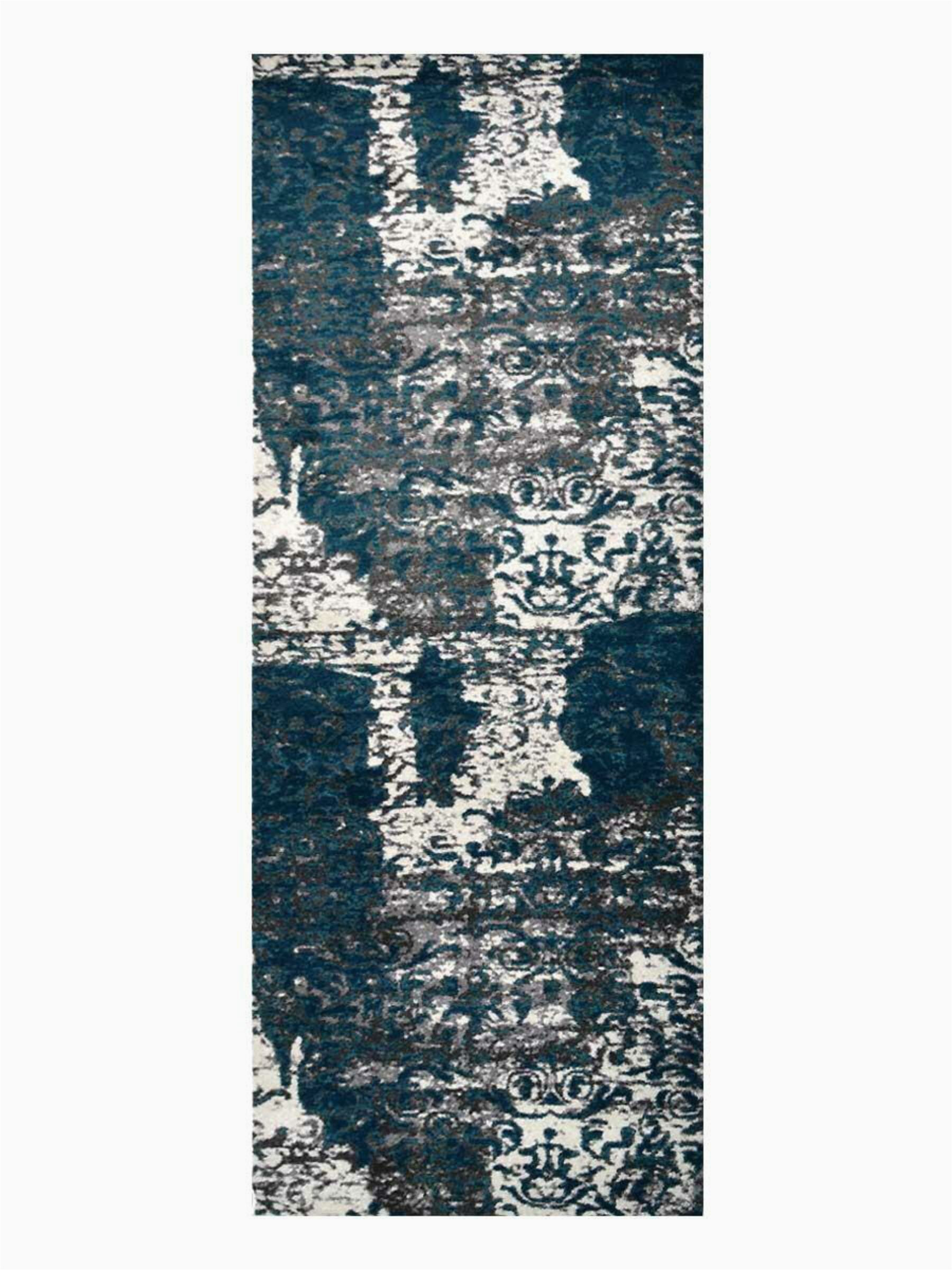 hackleburg abstract silverblue area rug