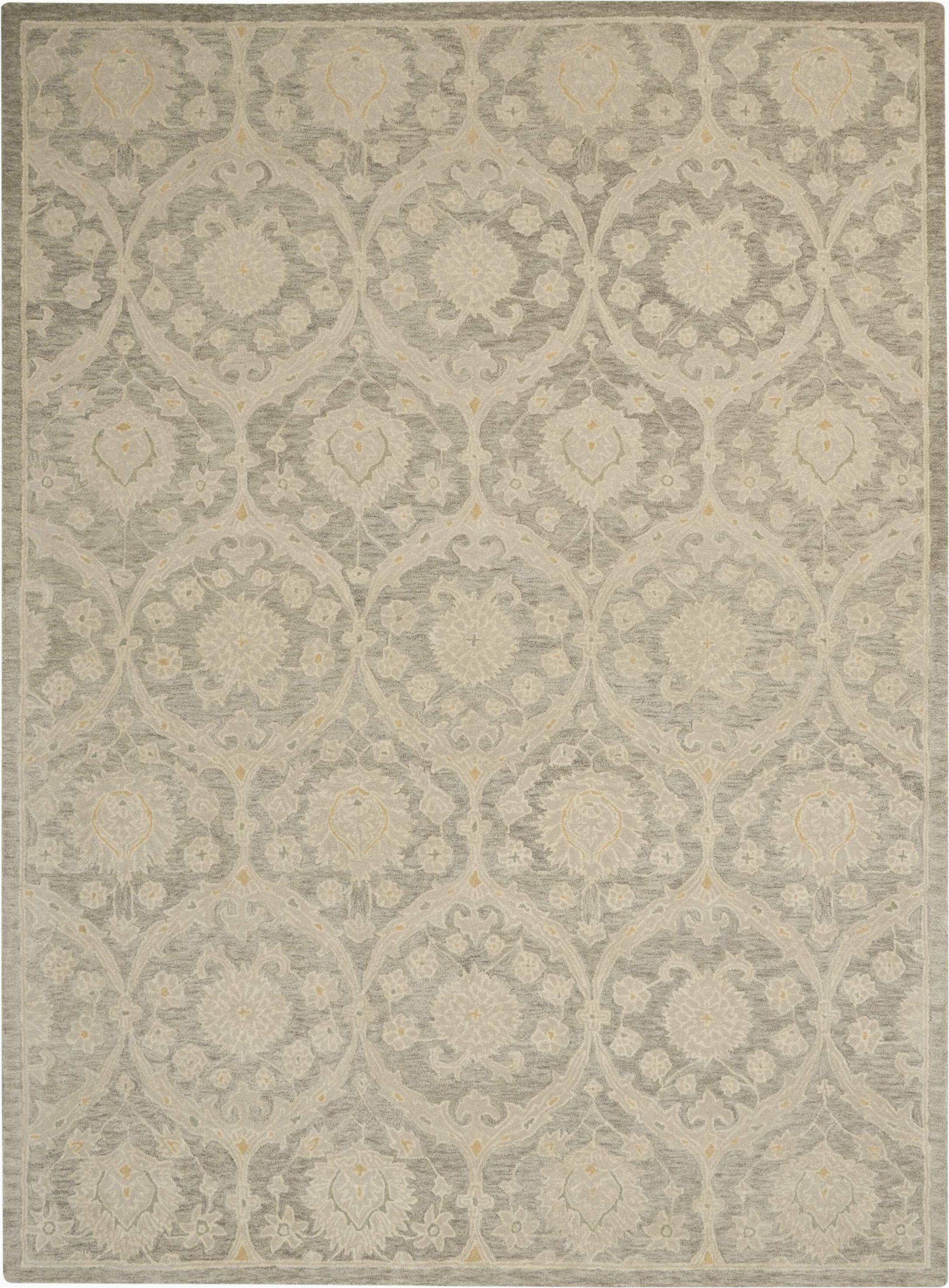 bade hand tufted wool beigegray area rug