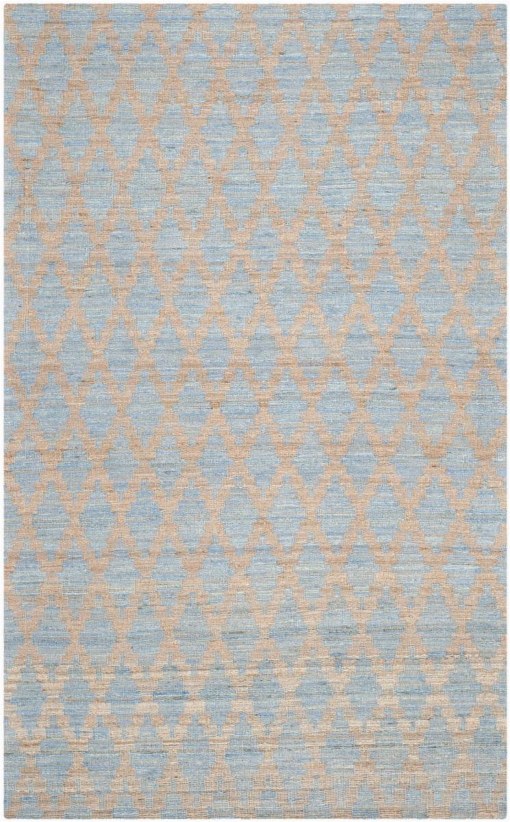 safavieh cape cod cap413a light blue gold area rugx