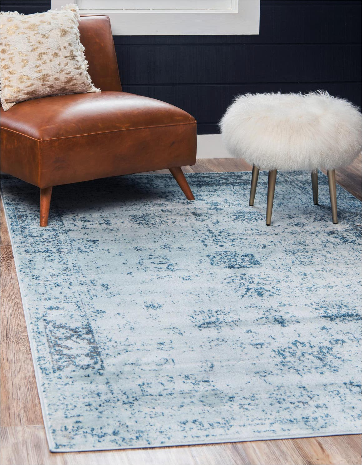 light blue 8x10 monte carlo area rug
