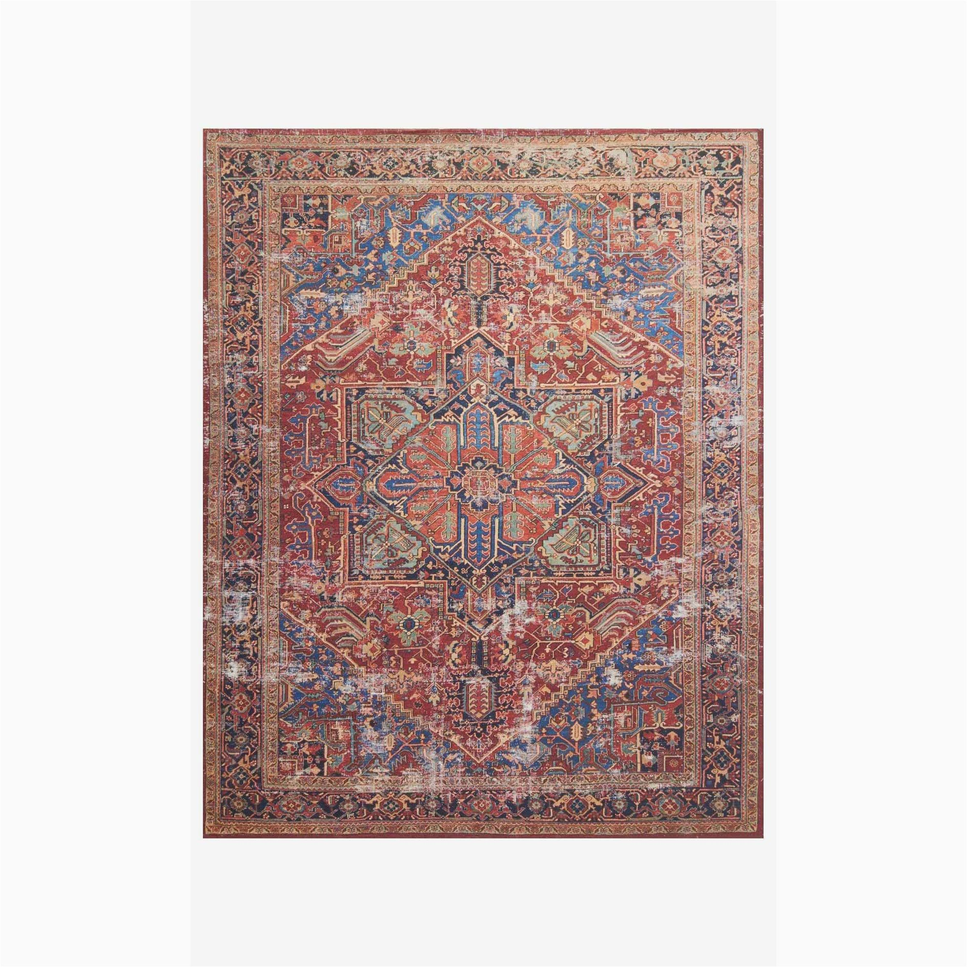 lucca rug 09 red blue