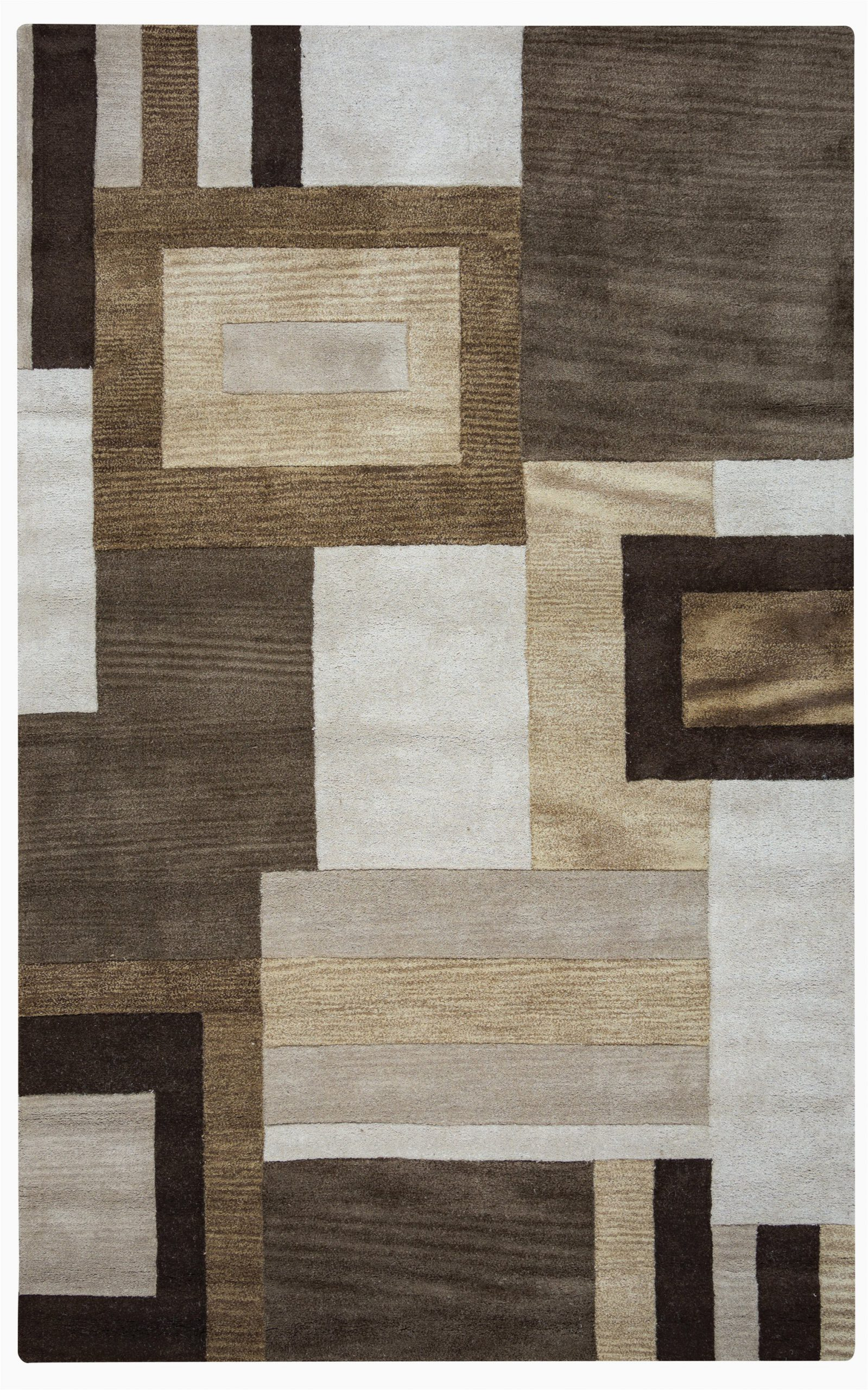 rizzy home volare vo1431 multi colored color block area rug