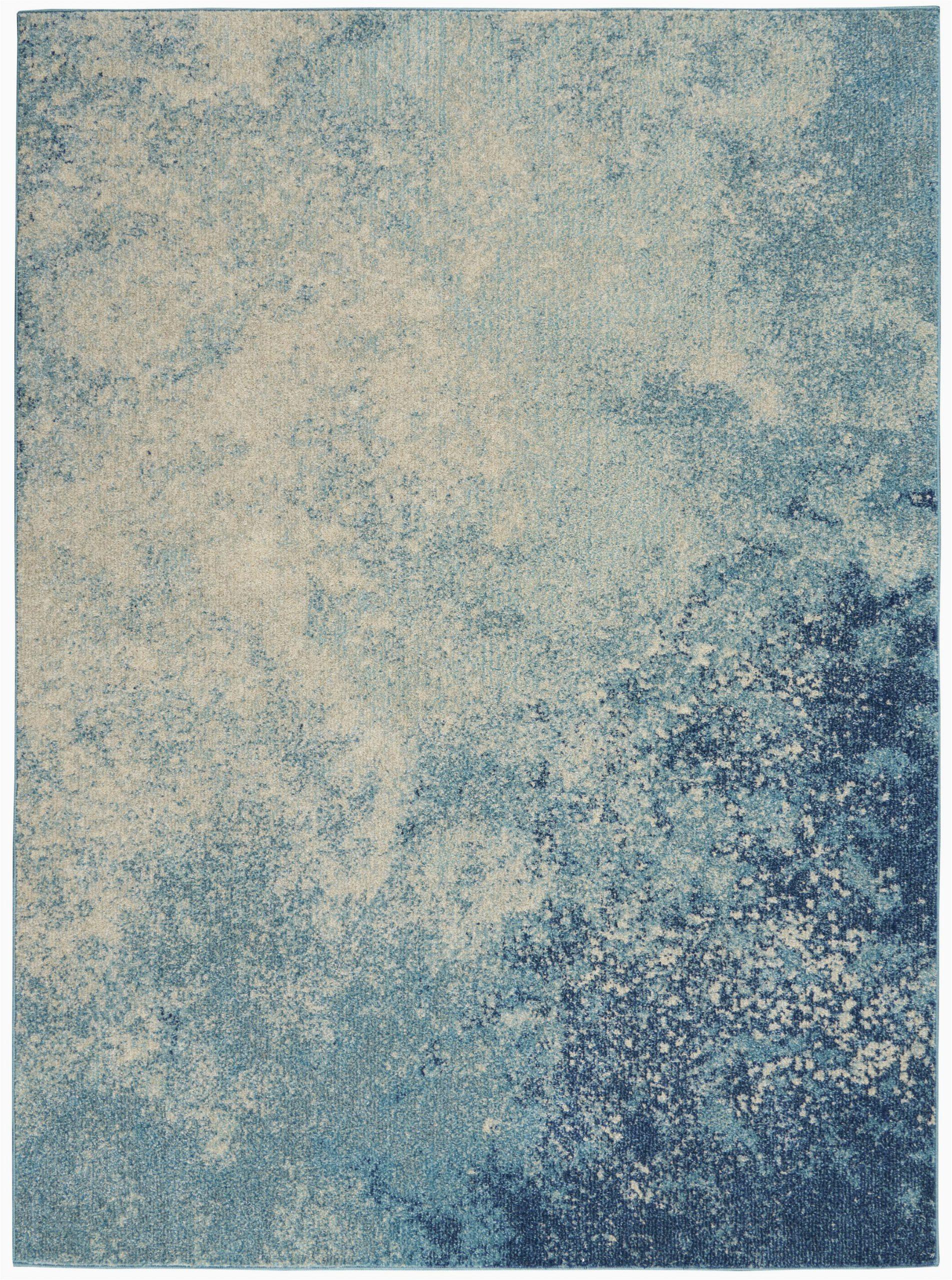 nourison passion psn10 navy light blue area rug