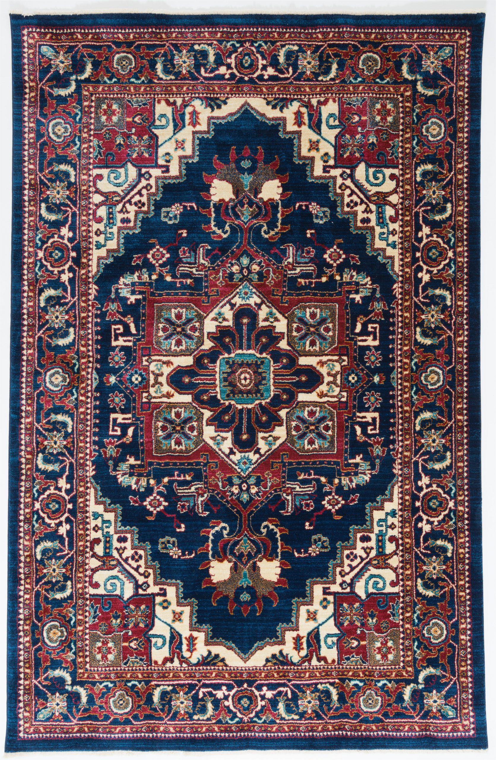 emrys oriental navyred area rug