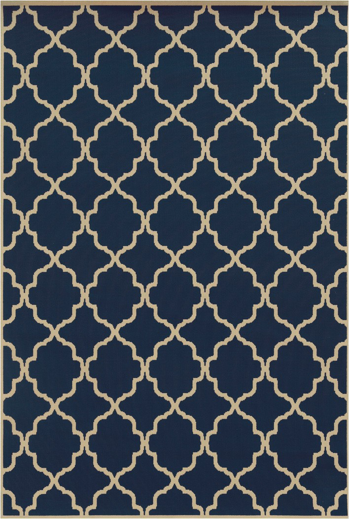 Navy Blue Geometric Rug Riviera Navy Geometric Rug 4770l