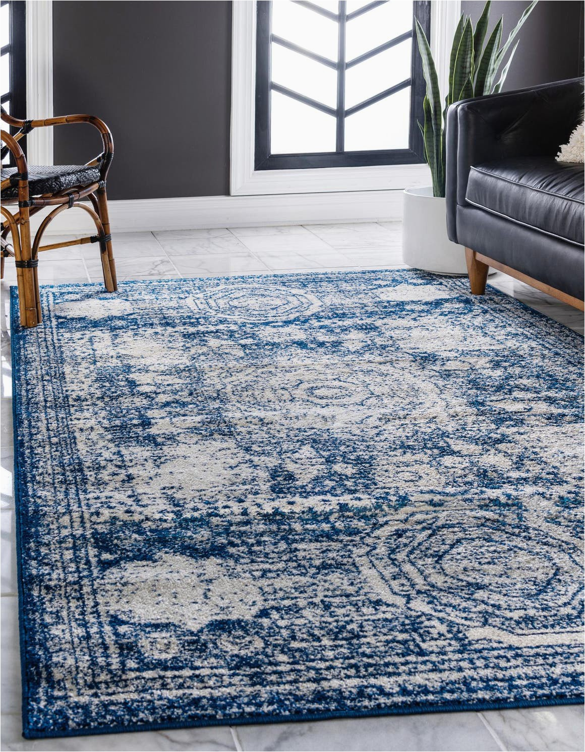 navy blue 8x10 dover area rug