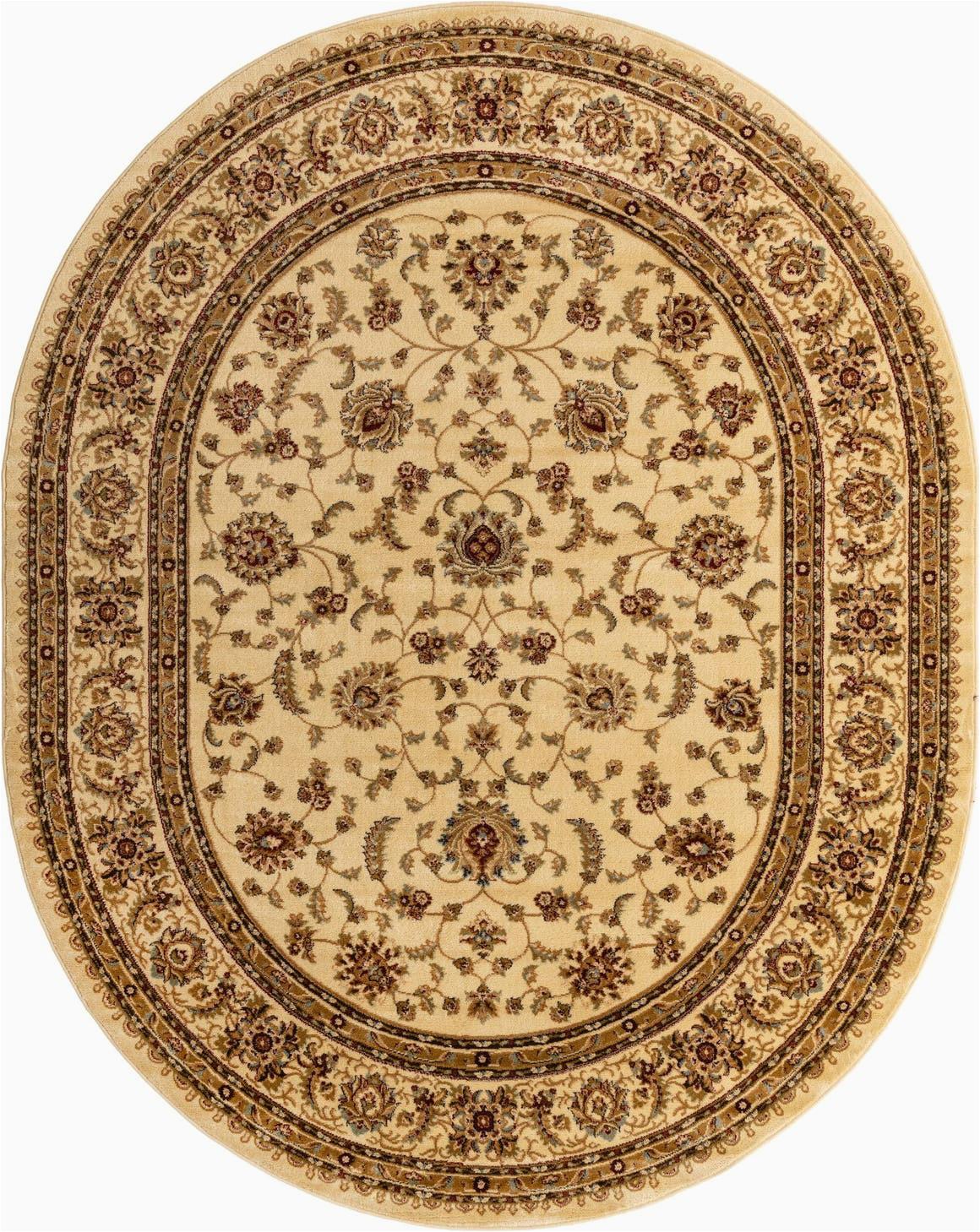 cream 8x10 oval aditi area rug