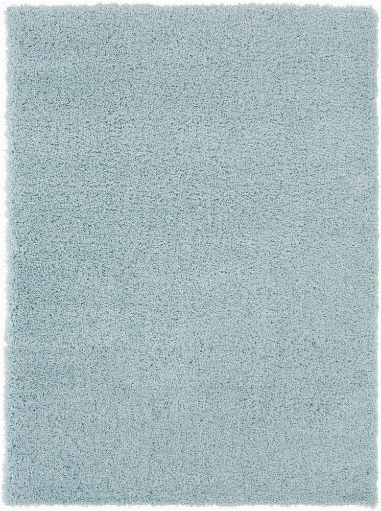 Pale Blue Shag Rug Surya Galaxy Shag Gys 4509 Pale Blue solid Colored Shag Rug
