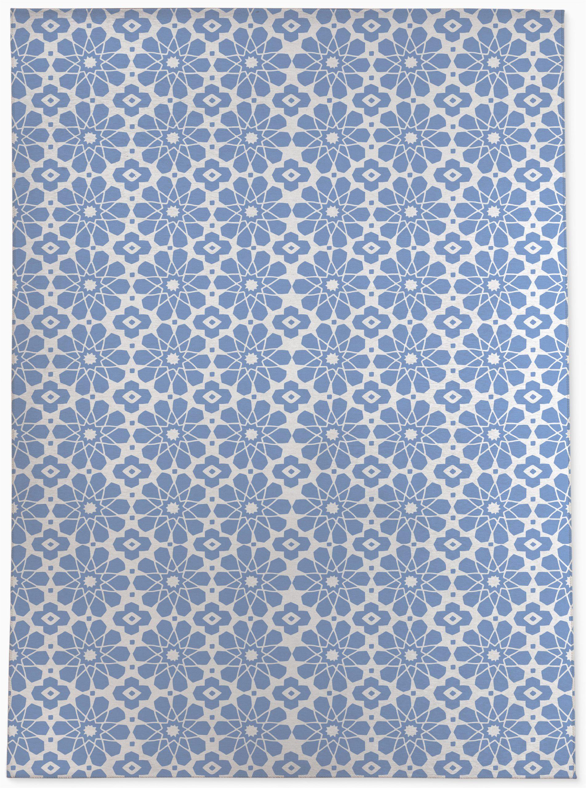 martino blueperiwinkle area rug
