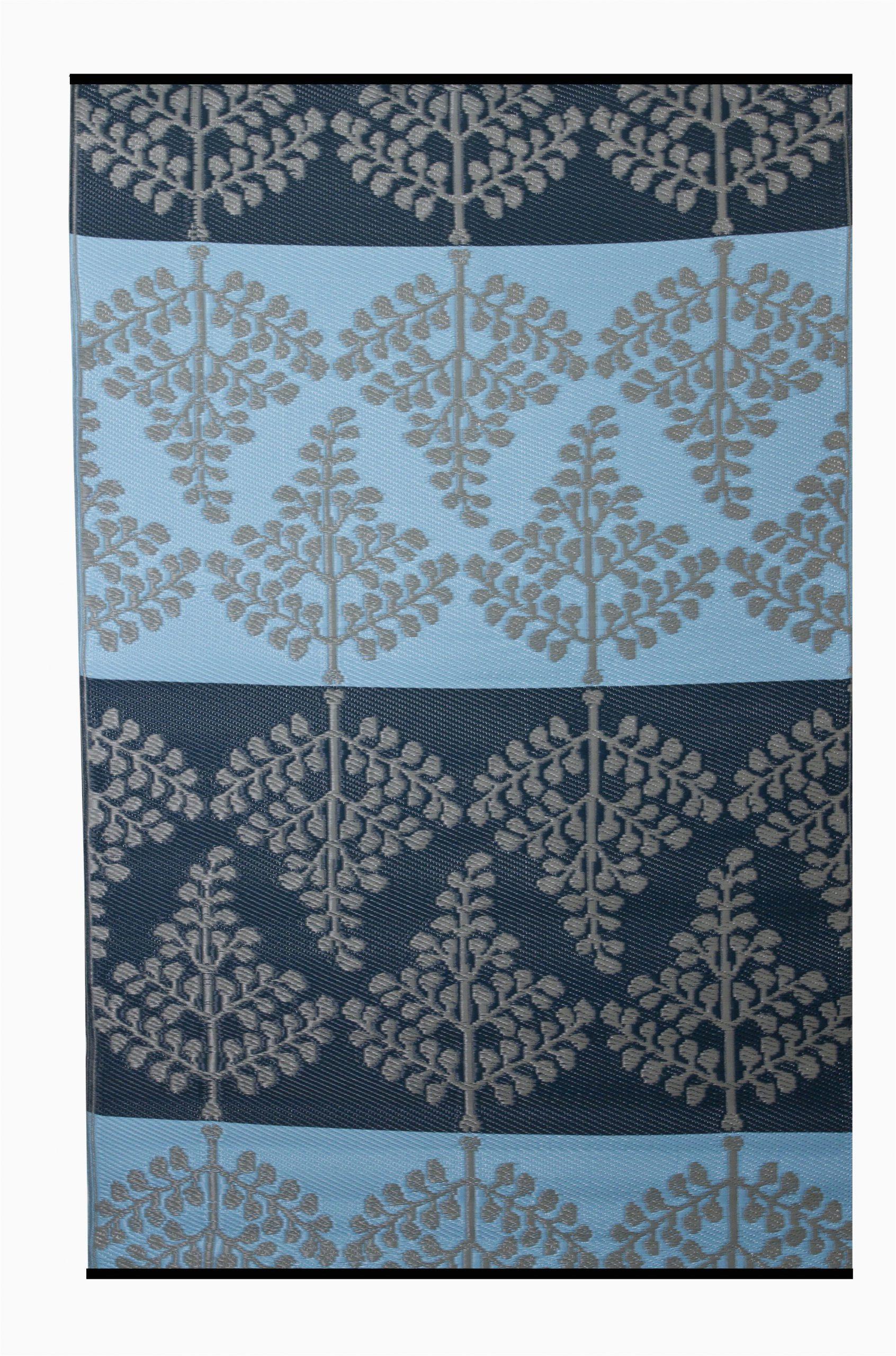 premier home hand woven blue indooroutdoor area rug