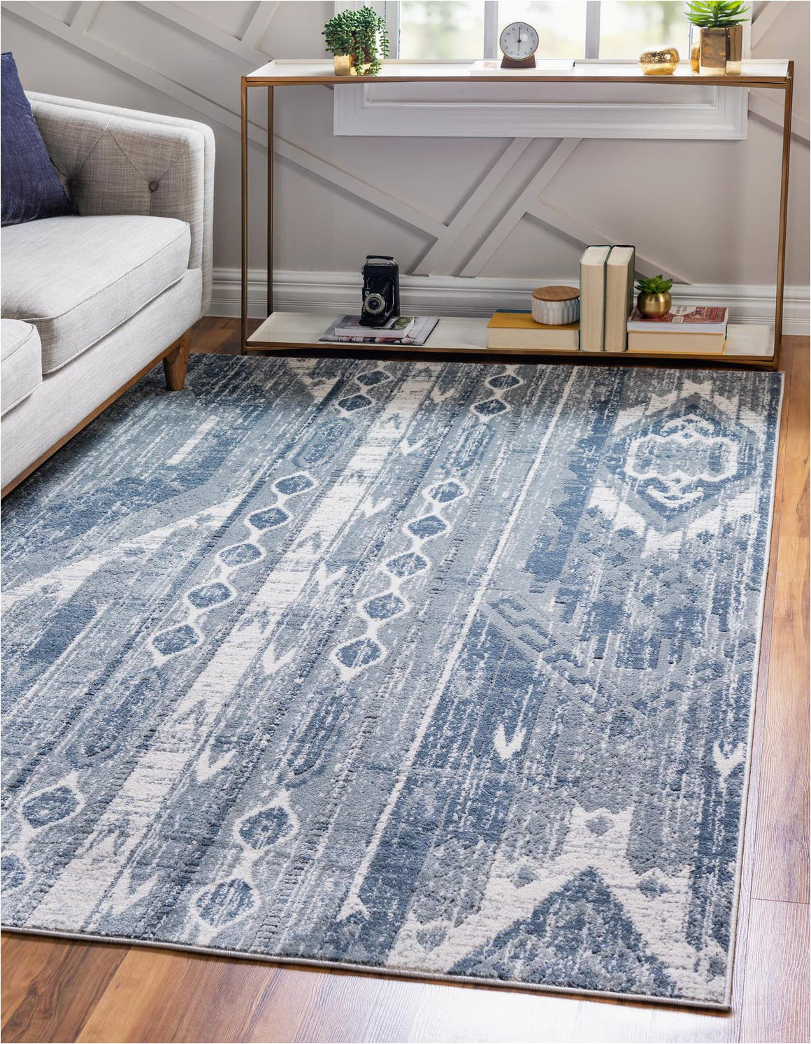 blue gray 5x8 oregon area rug