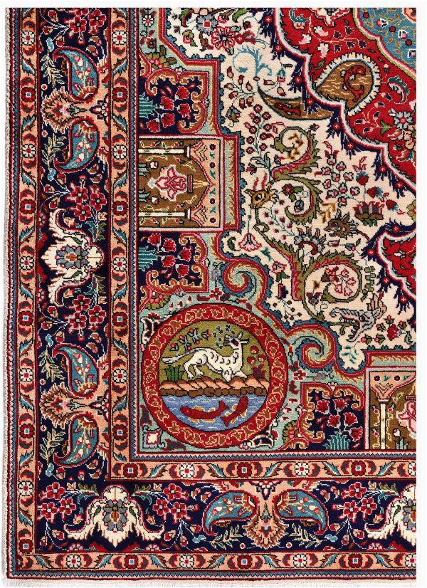 blue tabriz rug blue persian carpet for sale 2x3m dr407